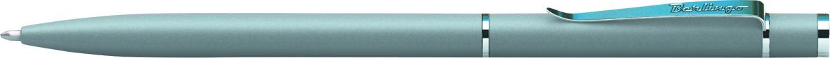 Berlingo Ручка шариковая Golden Classic цвет корпуса серый серебристый72523WDОригинальная автоматическая шариковая ручка Berlingo Golden Classic с поворотным механизмом.Цвет чернил - синий. Диаметр пишущего узла - 0,7 мм. Подходит для нанесения логотипа. Ручка упакована в индивидуальный пластиковый футляр.