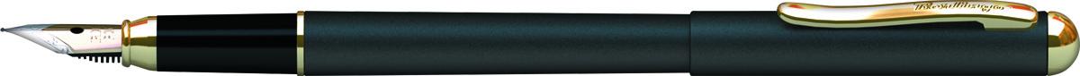 Berlingo Ручка перьевая Velvet Prestige цвет корпуса черный золотистыйPP-304Перьевая ручка Berlingo Velvet Prestige создана для настоящих ценителей классики. Цвет корпуса черный, с позолотой. Оригинальный клип. Изящная гравировка.