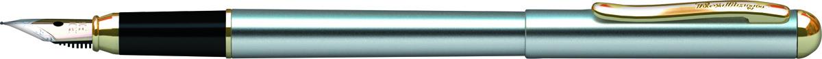 Berlingo Ручка перьевая Velvet Prestige цвет корпуса серебристый золотистый2010440Перьевая ручка Berlingo Velvet Prestige создана для настоящих ценителей классики. Цвет корпуса серебристый, с позолотой. Оригинальный клип. Изящная гравировка.