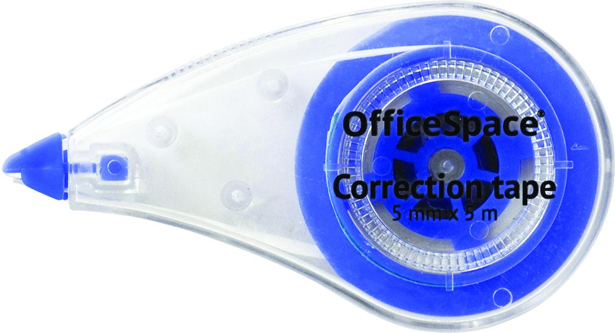 OfficeSpace Корректирующая лента 5 мFS-00261Корректирующее средство OfficeSpace в виде ленты шириной 5 мм. Длина ленты 5 метров. После нанесения не требует времени на высыхание, наносится ровным слоем, потребляется экономично.