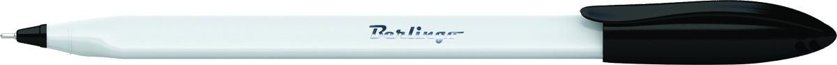 Berlingo Ручка шариковая Triangle Snow цвет черныйCBp_70853Одноразовая шариковая ручка Berlingo Triangle Snow с колпачком и пластиковым клипом. Специальный пишущий узел и чернила пониженной вязкости обеспечивают супермягкое письмо. Удобный корпус трёхгранной формы. Вентилируемый колпачок. Рифление в зоне захвата препятствует скольжению пальцев при письме. Цвет корпуса - белоснежный, цвет деталей соответствует цвету чернил. Диаметр пишущего узла - 0,7 мм.