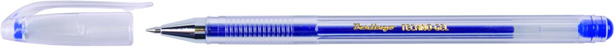 Berlingo Ручка гелевая Techno-Gel синяя2010440В гелевой ручке Berlingo Techno-Gel содержатся специальные чернила, в состав которых входит вода и масляная основа.Водостойкие чернила хорошо пишут в холодную погоду и долго не выцветают. Диаметр пишущего узла - 0,5 мм. Цвет чернил - синий.