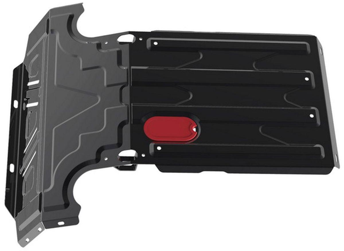 Защита радиатора Автоброня, для Chevrolet Niva 2002-596Технологически совершенный продукт за невысокую стоимость.Защита разработана с учетом особенностей днища автомобиля, что позволяет сохранить дорожный просвет с минимальным изменением.Защита устанавливается в штатные места кузова автомобиля. Глубокий штамп обеспечивает до двух раз больше жесткости в сравнении с обычной защитой той же толщины. Проштампованные ребра жесткости препятствуют деформации защиты при ударах.Тепловой зазор и вентиляционные отверстия обеспечивают сохранение температурного режима двигателя в норме. Скрытый крепеж предотвращает срыв крепежных элементов при наезде на препятствие.Шумопоглощающие резиновые элементы обеспечивают комфортную езду без вибраций и скрежета металла, а съемные лючки для слива масла и замены фильтра - экономию средств и время.Конструкция изделия не влияет на пассивную безопасность автомобиля (при ударе защита не воздействует на деформационные зоны кузова). Толщина стали: 2 мм.В комплекте инструкция по установке.При установке используется штатный крепеж автомобиля.Уважаемые клиенты!Обращаем ваше внимание на тот факт, что защита имеет форму, соответствующую модели данного автомобиля. Наличие глубокого штампа и лючков для смены фильтров/масла предусмотрено не на всех защитах. Фото служит для визуального восприятия товара.
