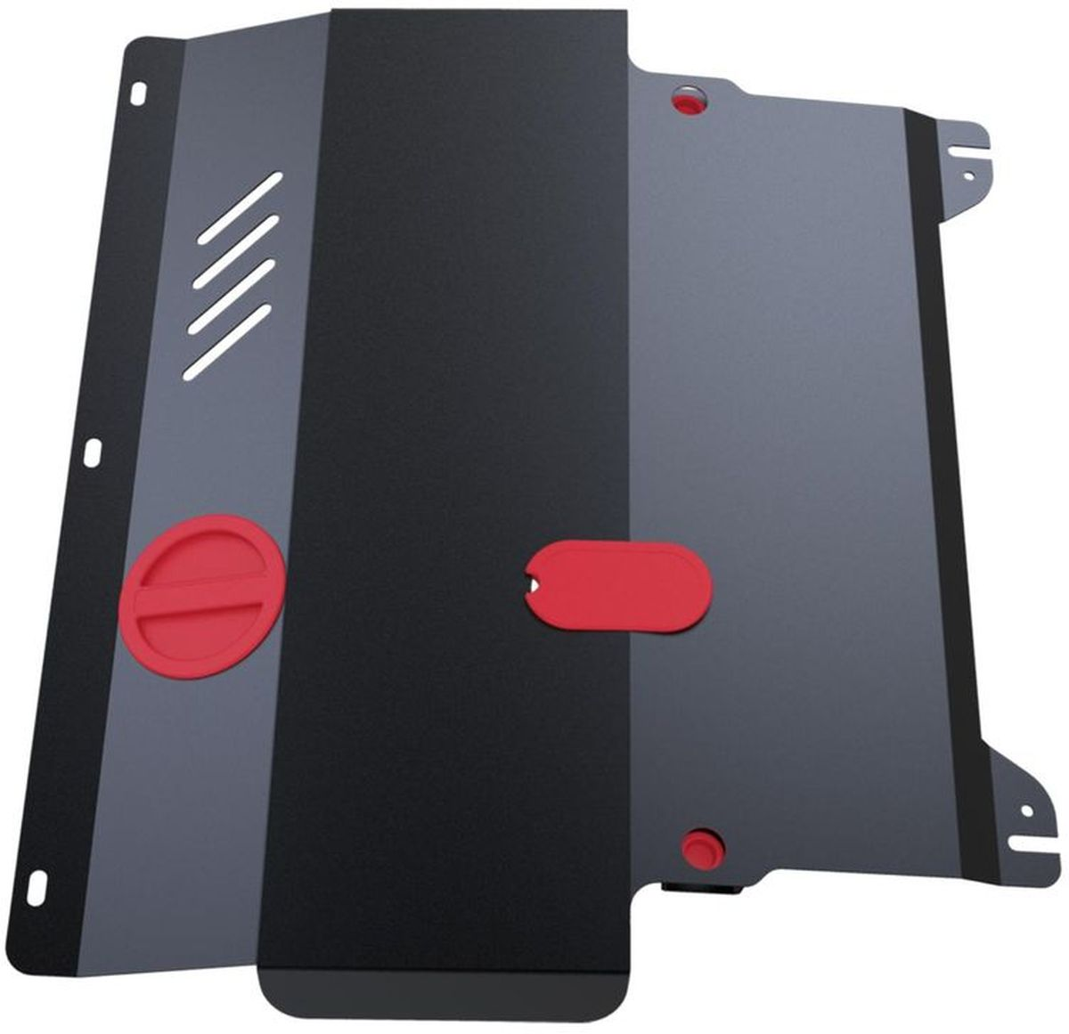 Защита картера Автоброня, для Nissan Pathfinder ч.1, V - все (1996-2004)1004900000360Технологически совершенный продукт за невысокую стоимость.Защита разработана с учетом особенностей днища автомобиля, что позволяет сохранить дорожный просвет с минимальным изменением.Защита устанавливается в штатные места кузова автомобиля. Глубокий штамп обеспечивает до двух раз больше жесткости в сравнении с обычной защитой той же толщины. Проштампованные ребра жесткости препятствуют деформации защиты при ударах.Тепловой зазор и вентиляционные отверстия обеспечивают сохранение температурного режима двигателя в норме. Скрытый крепеж предотвращает срыв крепежных элементов при наезде на препятствие.Шумопоглощающие резиновые элементы обеспечивают комфортную езду без вибраций и скрежета металла, а съемные лючки для слива масла и замены фильтра - экономию средств и время.Конструкция изделия не влияет на пассивную безопасность автомобиля (при ударе защита не воздействует на деформационные зоны кузова). Со штатным крепежом. В комплекте инструкция по установке.Толщина стали: 2 мм.Уважаемые клиенты!Обращаем ваше внимание, что элемент защиты имеет форму, соответствующую модели данного автомобиля. Фото служит для визуального восприятия товара и может отличаться от фактического.