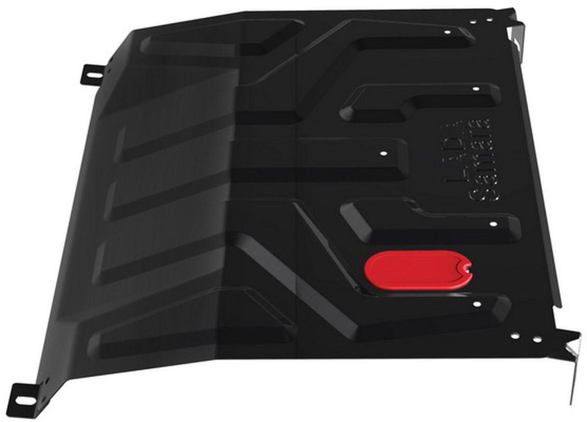 Защита картера и КПП Автоброня, для Lada Samara 1980-1.06006.1Стальные защиты Автоброня надежно защищают ваш автомобиль от повреждений при наезде на бордюры, выступающие канализационные люки, кромки поврежденного асфальта или при ремонте дорог, не говоря уже о загородных дорогах.- Имеют оптимальное соотношение цена-качество.- Спроектированы с учетом особенностей автомобиля, что делает установку удобной.- Защита устанавливается в штатные места кузова автомобиля.- Является надежной защитой для важных элементов на протяжении долгих лет.- Глубокий штамп дополнительно усиливает конструкцию защиты.- Подштамповка в местах крепления защищает крепеж от срезания.- Технологические отверстия там, где они необходимы для смены масла и слива воды, оборудованные заглушками, закрепленными на защите.Толщина стали 2 мм.В комплекте инструкция по установке.При установке используется штатный крепеж автомобиля.Уважаемые клиенты!Обращаем ваше внимание на тот факт, что защита имеет форму, соответствующую модели данного автомобиля. Наличие глубокого штампа и лючков для смены фильтров/масла предусмотрено не на всех защитах. Фото служит для визуального восприятия товара.