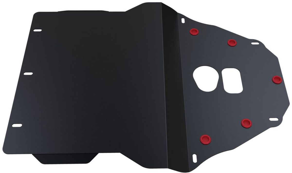 Защита картера и КПП Автоброня, для BMW 5 E39. 111.00501.1SVC-300Технологически совершенный продукт за невысокую стоимость.Защита разработана с учетом особенностей днища автомобиля, что позволяет сохранить дорожный просвет с минимальным изменением.Защита устанавливается в штатные места кузова автомобиля. Глубокий штамп обеспечивает до двух раз больше жесткости в сравнении с обычной защитой той же толщины. Проштампованные ребра жесткости препятствуют деформации защиты при ударах.Тепловой зазор и вентиляционные отверстия обеспечивают сохранение температурного режима двигателя в норме. Скрытый крепеж предотвращает срыв крепежных элементов при наезде на препятствие.Шумопоглощающие резиновые элементы обеспечивают комфортную езду без вибраций и скрежета металла, а съемные лючки для слива масла и замены фильтра - экономию средств и время.Конструкция изделия не влияет на пассивную безопасность автомобиля (при ударе защита не воздействует на деформационные зоны кузова). Со штатным крепежом. В комплекте инструкция по установке.Толщина стали: 2 мм.