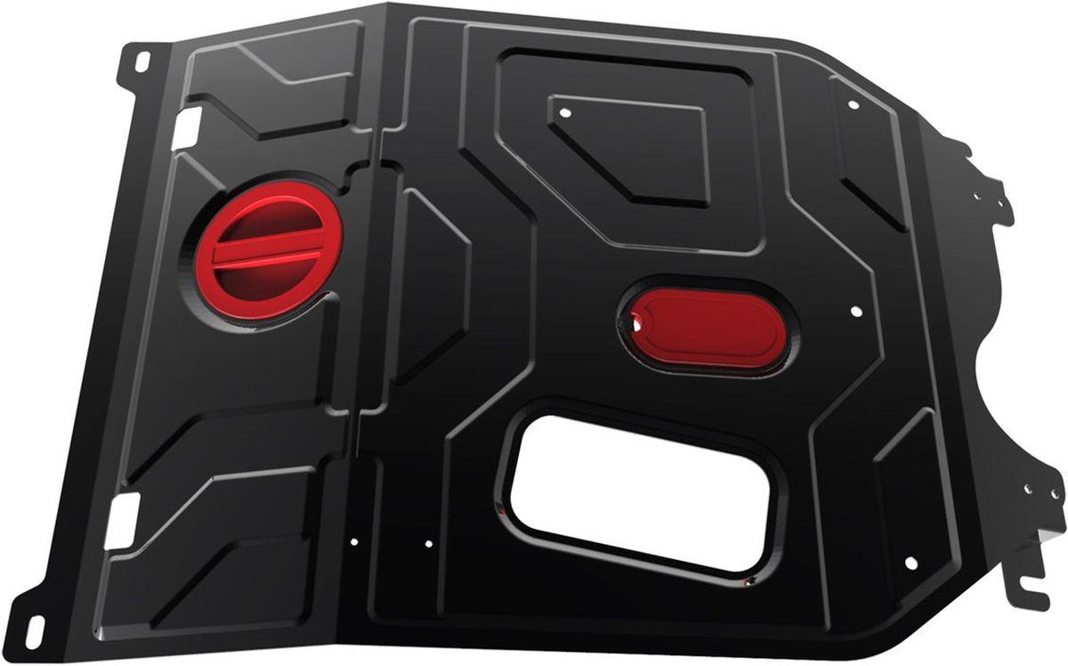 Защита картера и КПП Автоброня, для Daewoo Nexia. 111.01310.1SVC-300Технологически совершенный продукт за невысокую стоимость.Защита разработана с учетом особенностей днища автомобиля, что позволяет сохранить дорожный просвет с минимальным изменением.Защита устанавливается в штатные места кузова автомобиля. Глубокий штамп обеспечивает до двух раз больше жесткости в сравнении с обычной защитой той же толщины. Проштампованные ребра жесткости препятствуют деформации защиты при ударах.Тепловой зазор и вентиляционные отверстия обеспечивают сохранение температурного режима двигателя в норме. Скрытый крепеж предотвращает срыв крепежных элементов при наезде на препятствие.Шумопоглощающие резиновые элементы обеспечивают комфортную езду без вибраций и скрежета металла, а съемные лючки для слива масла и замены фильтра - экономию средств и время.Конструкция изделия не влияет на пассивную безопасность автомобиля (при ударе защита не воздействует на деформационные зоны кузова). Со штатным крепежом. В комплекте инструкция по установке.Толщина стали: 2 мм.