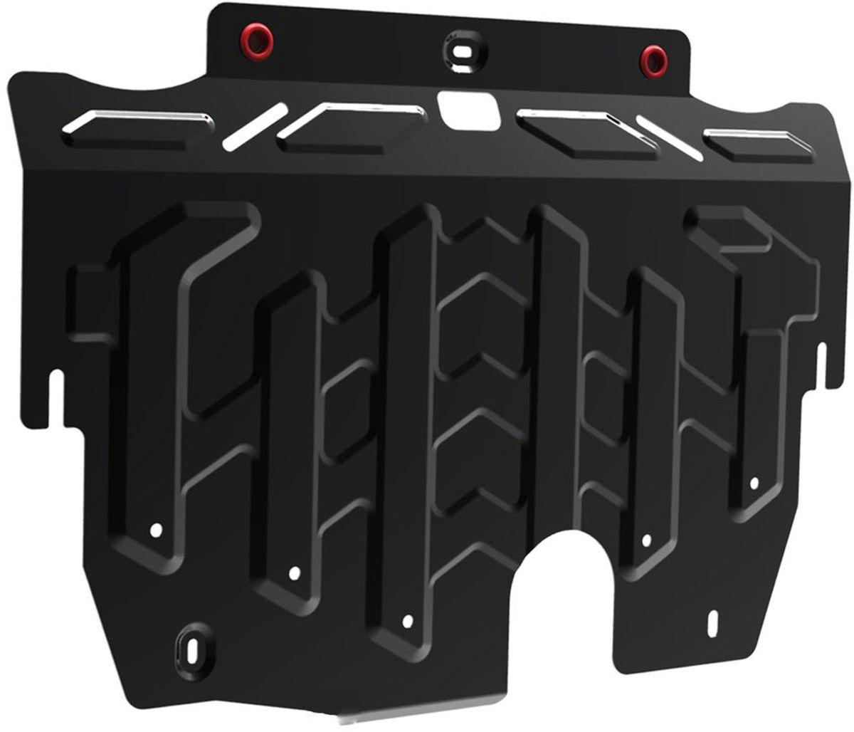 Защита картера и КПП Автоброня, для Ford Galaxy/Mondeo/S-Max. 111.01827.1MW-3101Технологически совершенный продукт за невысокую стоимость.Защита разработана с учетом особенностей днища автомобиля, что позволяет сохранить дорожный просвет с минимальным изменением.Защита устанавливается в штатные места кузова автомобиля. Глубокий штамп обеспечивает до двух раз больше жесткости в сравнении с обычной защитой той же толщины. Проштампованные ребра жесткости препятствуют деформации защиты при ударах.Тепловой зазор и вентиляционные отверстия обеспечивают сохранение температурного режима двигателя в норме. Скрытый крепеж предотвращает срыв крепежных элементов при наезде на препятствие.Шумопоглощающие резиновые элементы обеспечивают комфортную езду без вибраций и скрежета металла, а съемные лючки для слива масла и замены фильтра - экономию средств и время.Конструкция изделия не влияет на пассивную безопасность автомобиля (при ударе защита не воздействует на деформационные зоны кузова). Со штатным крепежом. В комплекте инструкция по установке.Толщина стали: 2 мм.