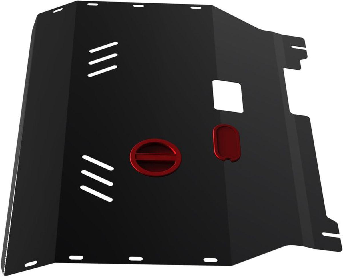 Защита картера и КПП Автоброня, для Ford Transit. 111.01833.198298123_черныйТехнологически совершенный продукт за невысокую стоимость.Защита разработана с учетом особенностей днища автомобиля, что позволяет сохранить дорожный просвет с минимальным изменением.Защита устанавливается в штатные места кузова автомобиля. Глубокий штамп обеспечивает до двух раз больше жесткости в сравнении с обычной защитой той же толщины. Проштампованные ребра жесткости препятствуют деформации защиты при ударах.Тепловой зазор и вентиляционные отверстия обеспечивают сохранение температурного режима двигателя в норме. Скрытый крепеж предотвращает срыв крепежных элементов при наезде на препятствие.Шумопоглощающие резиновые элементы обеспечивают комфортную езду без вибраций и скрежета металла, а съемные лючки для слива масла и замены фильтра - экономию средств и время.Конструкция изделия не влияет на пассивную безопасность автомобиля (при ударе защита не воздействует на деформационные зоны кузова). Со штатным крепежом. В комплекте инструкция по установке.Толщина стали: 2 мм.