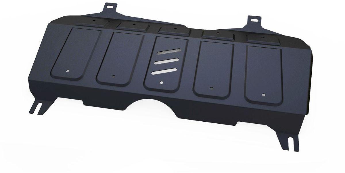 Защита картера и КПП Автоброня, для Geely Emgrand X7. 111.01913.1SVC-300Технологически совершенный продукт за невысокую стоимость.Защита разработана с учетом особенностей днища автомобиля, что позволяет сохранить дорожный просвет с минимальным изменением.Защита устанавливается в штатные места кузова автомобиля. Глубокий штамп обеспечивает до двух раз больше жесткости в сравнении с обычной защитой той же толщины. Проштампованные ребра жесткости препятствуют деформации защиты при ударах.Тепловой зазор и вентиляционные отверстия обеспечивают сохранение температурного режима двигателя в норме. Скрытый крепеж предотвращает срыв крепежных элементов при наезде на препятствие.Шумопоглощающие резиновые элементы обеспечивают комфортную езду без вибраций и скрежета металла, а съемные лючки для слива масла и замены фильтра - экономию средств и время.Конструкция изделия не влияет на пассивную безопасность автомобиля (при ударе защита не воздействует на деформационные зоны кузова). Со штатным крепежом. В комплекте инструкция по установке.Толщина стали: 2 мм.