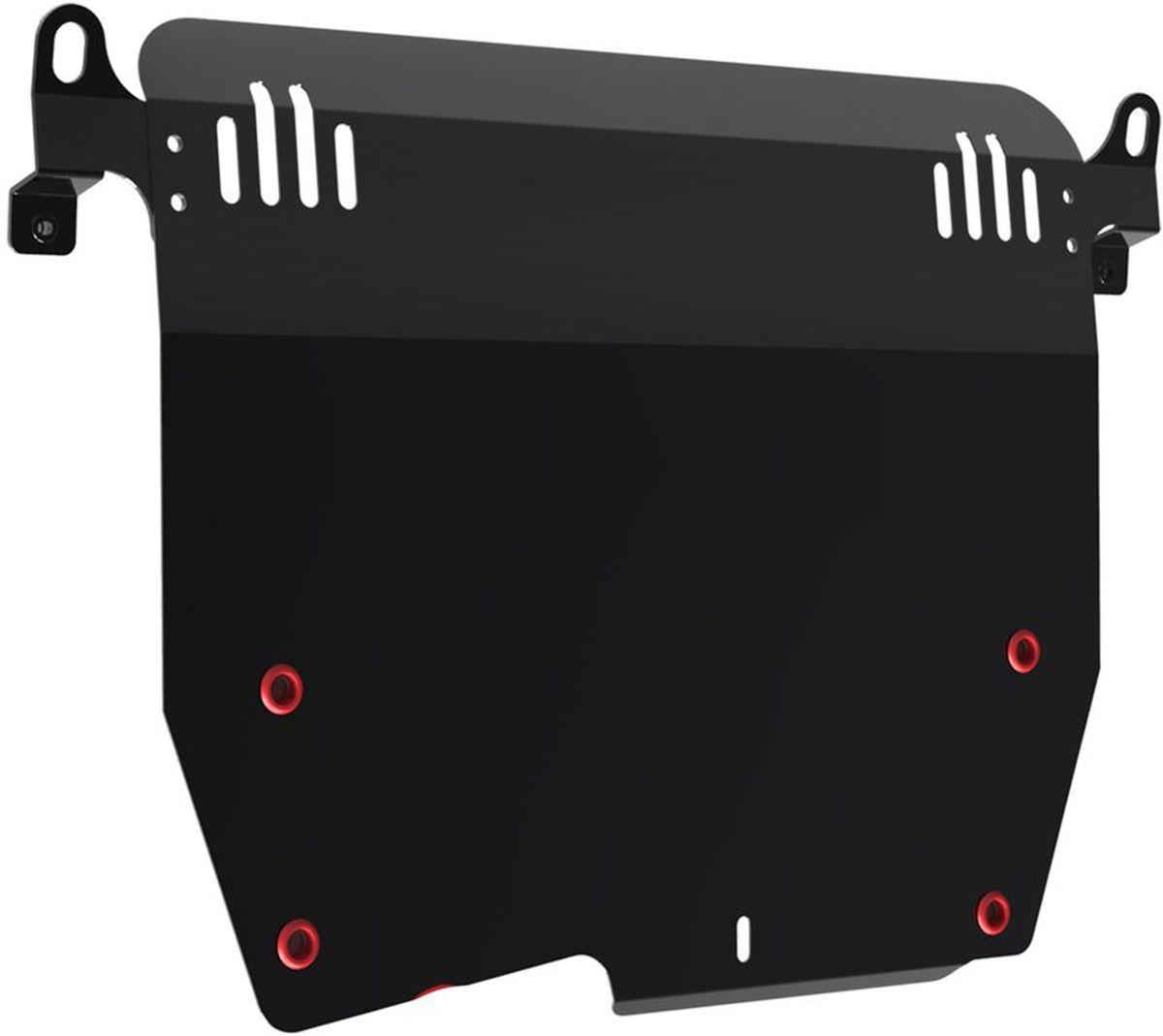 Защита картера и КПП Автоброня, для Honda Accord. 111.02101.24620019034603Технологически совершенный продукт за невысокую стоимость.Защита разработана с учетом особенностей днища автомобиля, что позволяет сохранить дорожный просвет с минимальным изменением.Защита устанавливается в штатные места кузова автомобиля. Глубокий штамп обеспечивает до двух раз больше жесткости в сравнении с обычной защитой той же толщины. Проштампованные ребра жесткости препятствуют деформации защиты при ударах.Тепловой зазор и вентиляционные отверстия обеспечивают сохранение температурного режима двигателя в норме. Скрытый крепеж предотвращает срыв крепежных элементов при наезде на препятствие.Шумопоглощающие резиновые элементы обеспечивают комфортную езду без вибраций и скрежета металла, а съемные лючки для слива масла и замены фильтра - экономию средств и время.Конструкция изделия не влияет на пассивную безопасность автомобиля (при ударе защита не воздействует на деформационные зоны кузова). Со штатным крепежом. В комплекте инструкция по установке.Толщина стали: 2 мм.