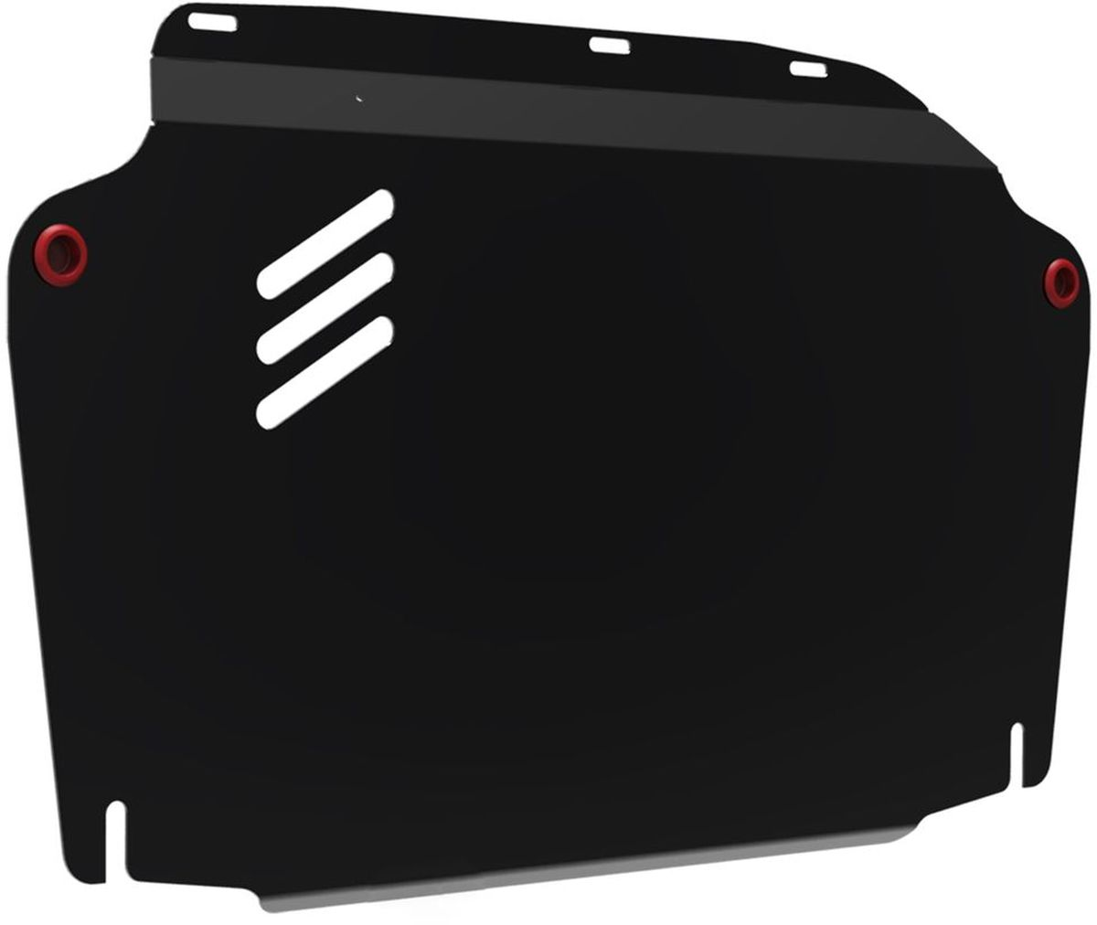 Защита картера и КПП Автоброня, для Hyundai Elantra/i30/Kia Ceed/Cerato. 111.02302.2DW90Технологически совершенный продукт за невысокую стоимость.Защита разработана с учетом особенностей днища автомобиля, что позволяет сохранить дорожный просвет с минимальным изменением.Защита устанавливается в штатные места кузова автомобиля. Глубокий штамп обеспечивает до двух раз больше жесткости в сравнении с обычной защитой той же толщины. Проштампованные ребра жесткости препятствуют деформации защиты при ударах.Тепловой зазор и вентиляционные отверстия обеспечивают сохранение температурного режима двигателя в норме. Скрытый крепеж предотвращает срыв крепежных элементов при наезде на препятствие.Шумопоглощающие резиновые элементы обеспечивают комфортную езду без вибраций и скрежета металла, а съемные лючки для слива масла и замены фильтра - экономию средств и время.Конструкция изделия не влияет на пассивную безопасность автомобиля (при ударе защита не воздействует на деформационные зоны кузова). Со штатным крепежом. В комплекте инструкция по установке.Толщина стали: 2 мм.