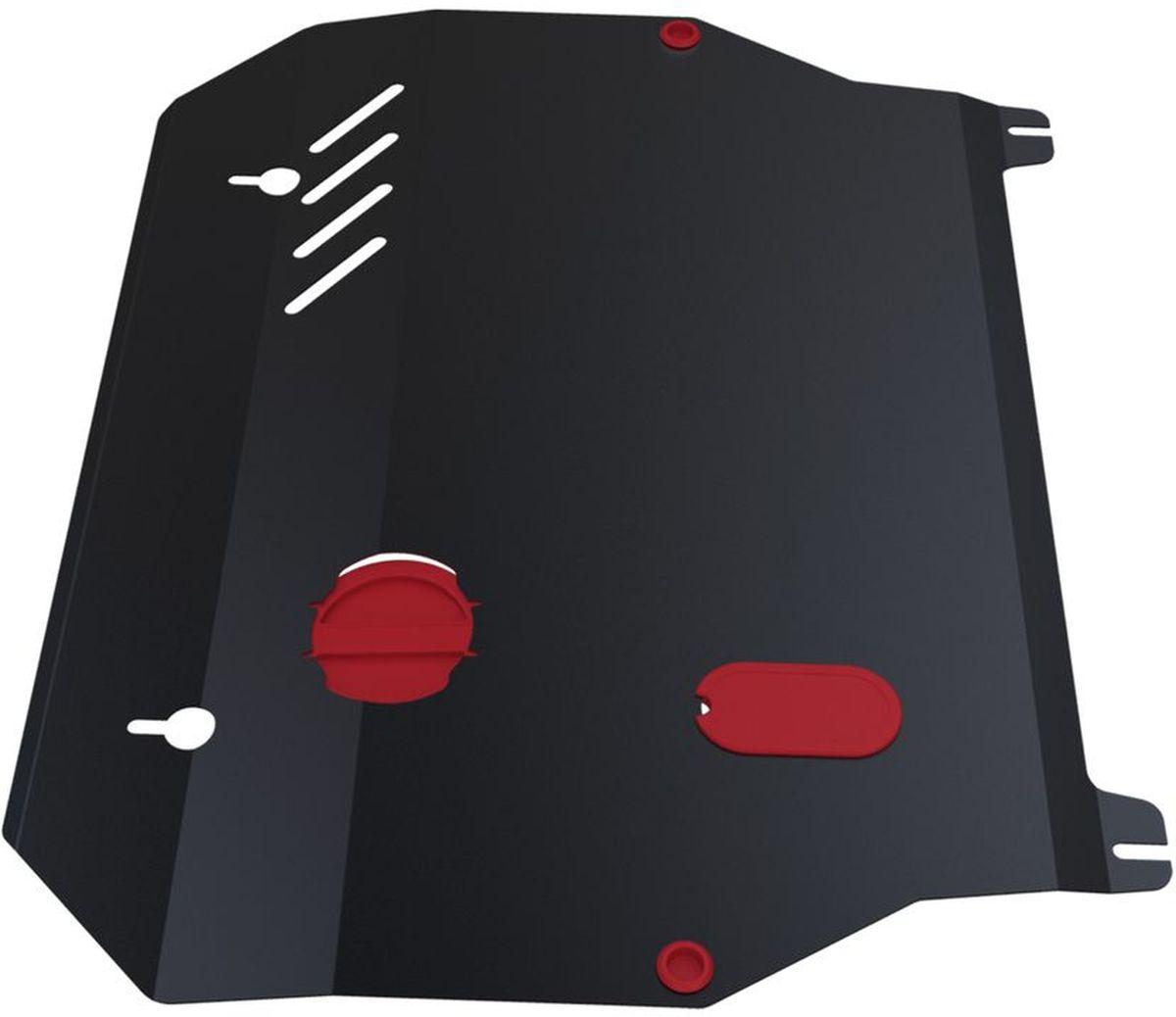 Защита картера и КПП Автоброня, для Hyundai Elantra XD/Hyundai ТагАЗ Elantra XD. 111.02303.11004900000360Технологически совершенный продукт за невысокую стоимость.Защита разработана с учетом особенностей днища автомобиля, что позволяет сохранить дорожный просвет с минимальным изменением.Защита устанавливается в штатные места кузова автомобиля. Глубокий штамп обеспечивает до двух раз больше жесткости в сравнении с обычной защитой той же толщины. Проштампованные ребра жесткости препятствуют деформации защиты при ударах.Тепловой зазор и вентиляционные отверстия обеспечивают сохранение температурного режима двигателя в норме. Скрытый крепеж предотвращает срыв крепежных элементов при наезде на препятствие.Шумопоглощающие резиновые элементы обеспечивают комфортную езду без вибраций и скрежета металла, а съемные лючки для слива масла и замены фильтра - экономию средств и время.Конструкция изделия не влияет на пассивную безопасность автомобиля (при ударе защита не воздействует на деформационные зоны кузова). Со штатным крепежом. В комплекте инструкция по установке.Толщина стали: 2 мм.