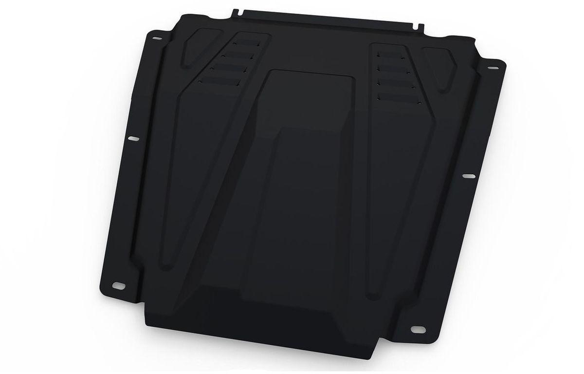 Защита редуктора Автоброня, для Hyundai Tucson 4WD, V - 2,0; 2,7 (2004-2010)SVC-300Технологически совершенный продукт за невысокую стоимость.Защита разработана с учетом особенностей днища автомобиля, что позволяет сохранить дорожный просвет с минимальным изменением.Защита устанавливается в штатные места кузова автомобиля. Глубокий штамп обеспечивает до двух раз больше жесткости в сравнении с обычной защитой той же толщины. Проштампованные ребра жесткости препятствуют деформации защиты при ударах.Тепловой зазор и вентиляционные отверстия обеспечивают сохранение температурного режима двигателя в норме. Скрытый крепеж предотвращает срыв крепежных элементов при наезде на препятствие.Шумопоглощающие резиновые элементы обеспечивают комфортную езду без вибраций и скрежета металла, а съемные лючки для слива масла и замены фильтра - экономию средств и время.Конструкция изделия не влияет на пассивную безопасность автомобиля (при ударе защита не воздействует на деформационные зоны кузова). Со штатным крепежом. В комплекте инструкция по установке.Толщина стали: 2 мм.Уважаемые клиенты!Обращаем ваше внимание, что элемент защиты имеет форму, соответствующую модели данного автомобиля. Фото служит для визуального восприятия товара и может отличаться от фактического.