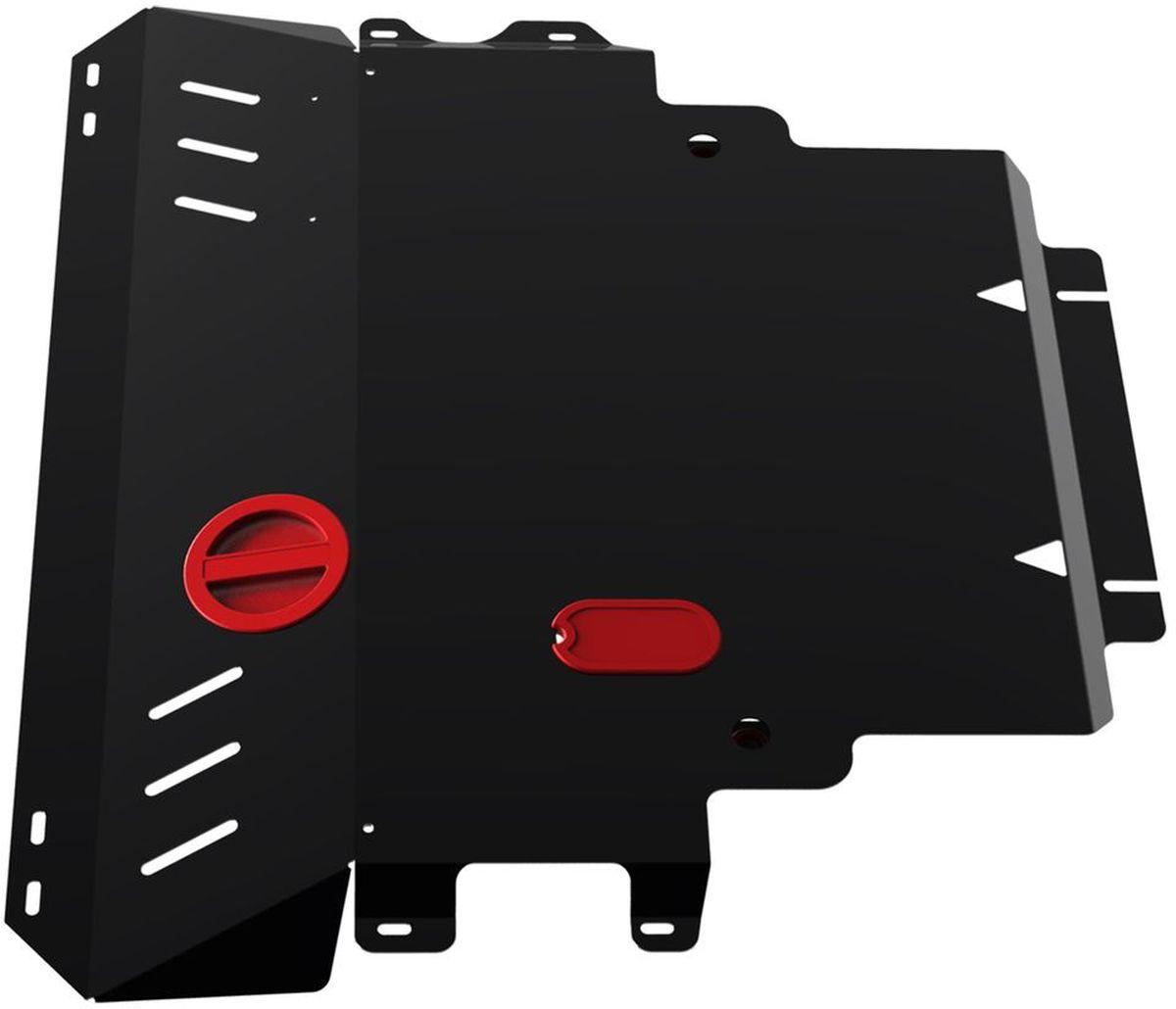 Защита картера и КПП Автоброня, для Mazda 3 2003-2008 / Mazda 5 2005-2010 / Mazda Premacy 2005-2010VCA-00Стальные защиты Автоброня надежно защищают ваш автомобиль от повреждений при наезде на бордюры, выступающие канализационные люки, кромки поврежденного асфальта или при ремонте дорог, не говоря уже о загородных дорогах.- Имеют оптимальное соотношение цена-качество.- Спроектированы с учетом особенностей автомобиля, что делает установку удобной.- Защита устанавливается в штатные места кузова автомобиля.- Является надежной защитой для важных элементов на протяжении долгих лет.- Глубокий штамп дополнительно усиливает конструкцию защиты.- Подштамповка в местах крепления защищает крепеж от срезания.- Технологические отверстия там, где они необходимы для смены масла и слива воды, оборудованные заглушками, закрепленными на защите.Толщина стали 2 мм.В комплекте крепеж и инструкция по установке.Уважаемые клиенты!Обращаем ваше внимание на тот факт, что защита имеет форму, соответствующую модели данного автомобиля. Наличие глубокого штампа и лючков для смены фильтров/масла предусмотрено не на всех защитах. Фото служит для визуального восприятия товара.