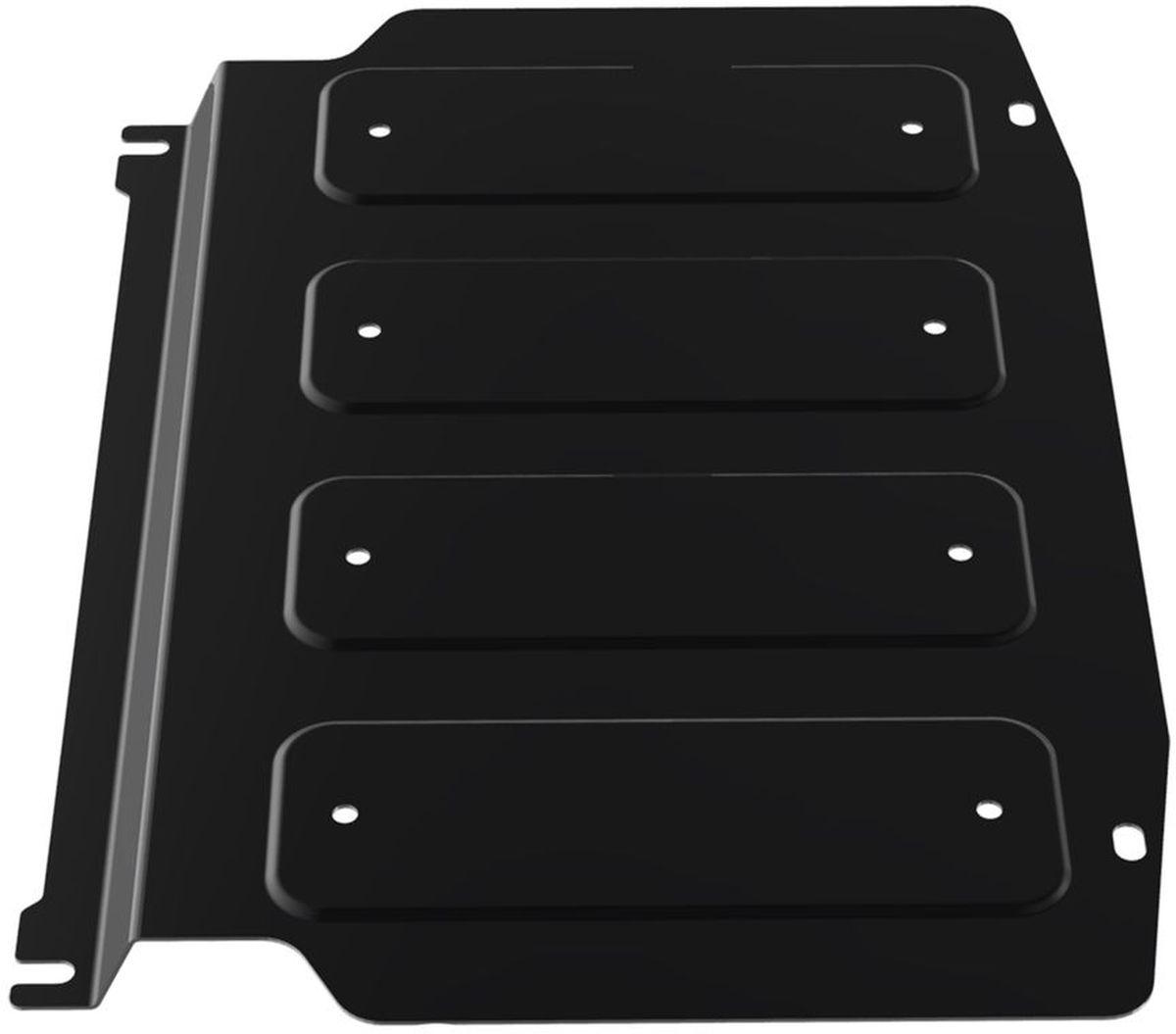 Защита картера и КПП Автоброня, для Mitsubishi Pajero III/Pajero IV. 111.04003.2RC-100BWCТехнологически совершенный продукт за невысокую стоимость.Защита разработана с учетом особенностей днища автомобиля, что позволяет сохранить дорожный просвет с минимальным изменением.Защита устанавливается в штатные места кузова автомобиля. Глубокий штамп обеспечивает до двух раз больше жесткости в сравнении с обычной защитой той же толщины. Проштампованные ребра жесткости препятствуют деформации защиты при ударах.Тепловой зазор и вентиляционные отверстия обеспечивают сохранение температурного режима двигателя в норме. Скрытый крепеж предотвращает срыв крепежных элементов при наезде на препятствие.Шумопоглощающие резиновые элементы обеспечивают комфортную езду без вибраций и скрежета металла, а съемные лючки для слива масла и замены фильтра - экономию средств и время.Конструкция изделия не влияет на пассивную безопасность автомобиля (при ударе защита не воздействует на деформационные зоны кузова). Со штатным крепежом. В комплекте инструкция по установке.Толщина стали: 2 мм.