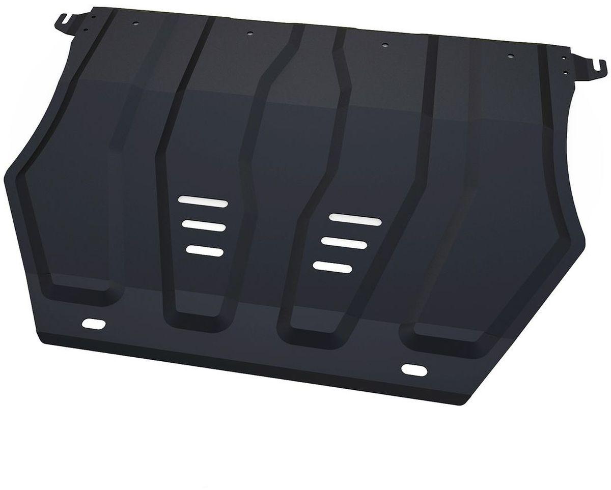 Защита картера и КПП Автоброня, для Mitsubishi Outlander. 111.04036.198298123_черныйТехнологически совершенный продукт за невысокую стоимость.Защита разработана с учетом особенностей днища автомобиля, что позволяет сохранить дорожный просвет с минимальным изменением.Защита устанавливается в штатные места кузова автомобиля. Глубокий штамп обеспечивает до двух раз больше жесткости в сравнении с обычной защитой той же толщины. Проштампованные ребра жесткости препятствуют деформации защиты при ударах.Тепловой зазор и вентиляционные отверстия обеспечивают сохранение температурного режима двигателя в норме. Скрытый крепеж предотвращает срыв крепежных элементов при наезде на препятствие.Шумопоглощающие резиновые элементы обеспечивают комфортную езду без вибраций и скрежета металла, а съемные лючки для слива масла и замены фильтра - экономию средств и время.Конструкция изделия не влияет на пассивную безопасность автомобиля (при ударе защита не воздействует на деформационные зоны кузова). Со штатным крепежом. В комплекте инструкция по установке.Толщина стали: 2 мм.