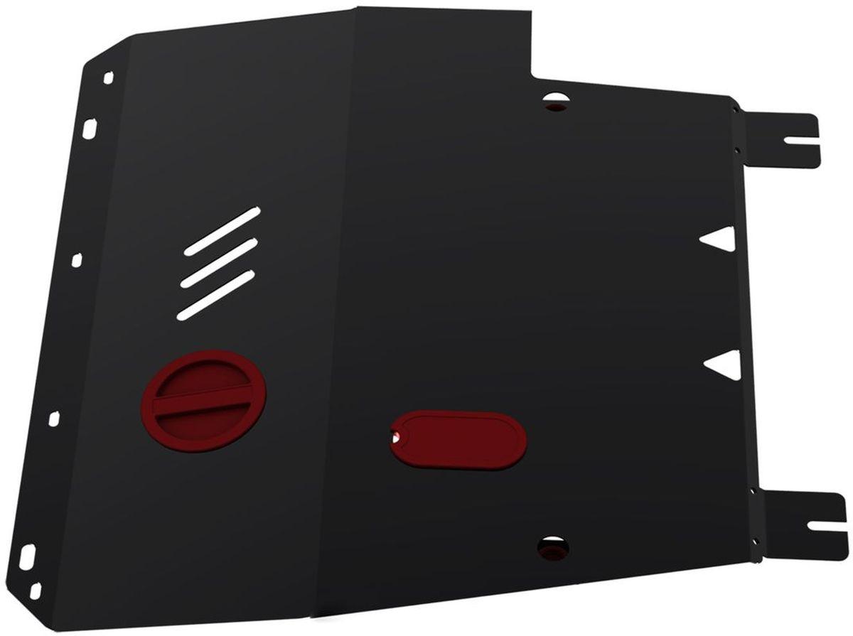 Защита картера и КПП Автоброня, для Nissan Tiida. 111.04113.31004900000360Технологически совершенный продукт за невысокую стоимость.Защита разработана с учетом особенностей днища автомобиля, что позволяет сохранить дорожный просвет с минимальным изменением.Защита устанавливается в штатные места кузова автомобиля. Глубокий штамп обеспечивает до двух раз больше жесткости в сравнении с обычной защитой той же толщины. Проштампованные ребра жесткости препятствуют деформации защиты при ударах.Тепловой зазор и вентиляционные отверстия обеспечивают сохранение температурного режима двигателя в норме. Скрытый крепеж предотвращает срыв крепежных элементов при наезде на препятствие.Шумопоглощающие резиновые элементы обеспечивают комфортную езду без вибраций и скрежета металла, а съемные лючки для слива масла и замены фильтра - экономию средств и время.Конструкция изделия не влияет на пассивную безопасность автомобиля (при ударе защита не воздействует на деформационные зоны кузова). Со штатным крепежом. В комплекте инструкция по установке.Толщина стали: 2 мм.
