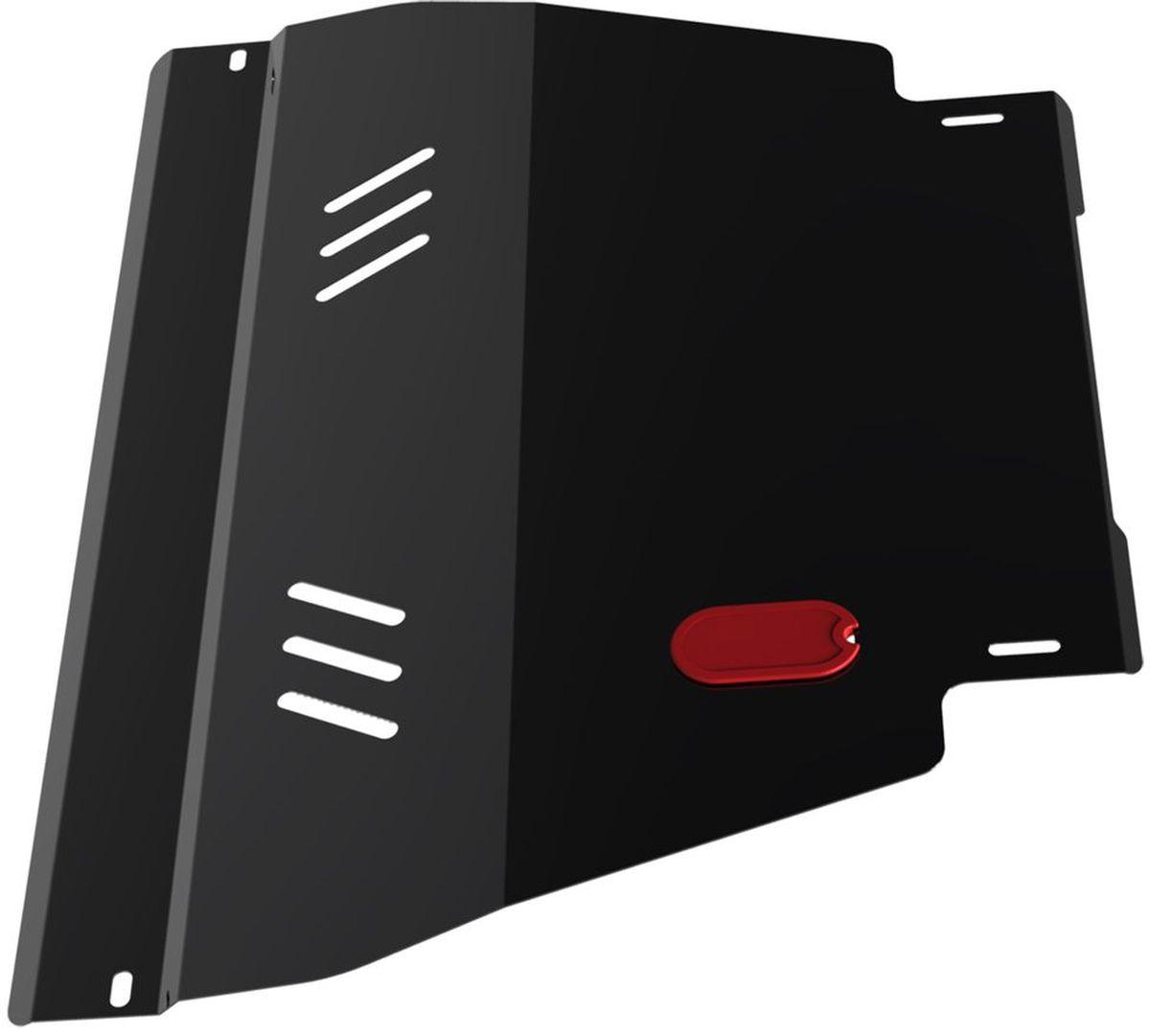 Защита картера и КПП Автоброня, для Nissan Ad Van/Almera N15/Primera P11/Sunny B14/Wingroad. 111.04129.180462Технологически совершенный продукт за невысокую стоимость.Защита разработана с учетом особенностей днища автомобиля, что позволяет сохранить дорожный просвет с минимальным изменением.Защита устанавливается в штатные места кузова автомобиля. Глубокий штамп обеспечивает до двух раз больше жесткости в сравнении с обычной защитой той же толщины. Проштампованные ребра жесткости препятствуют деформации защиты при ударах.Тепловой зазор и вентиляционные отверстия обеспечивают сохранение температурного режима двигателя в норме. Скрытый крепеж предотвращает срыв крепежных элементов при наезде на препятствие.Шумопоглощающие резиновые элементы обеспечивают комфортную езду без вибраций и скрежета металла, а съемные лючки для слива масла и замены фильтра - экономию средств и время.Конструкция изделия не влияет на пассивную безопасность автомобиля (при ударе защита не воздействует на деформационные зоны кузова). Со штатным крепежом. В комплекте инструкция по установке.Толщина стали: 2 мм.
