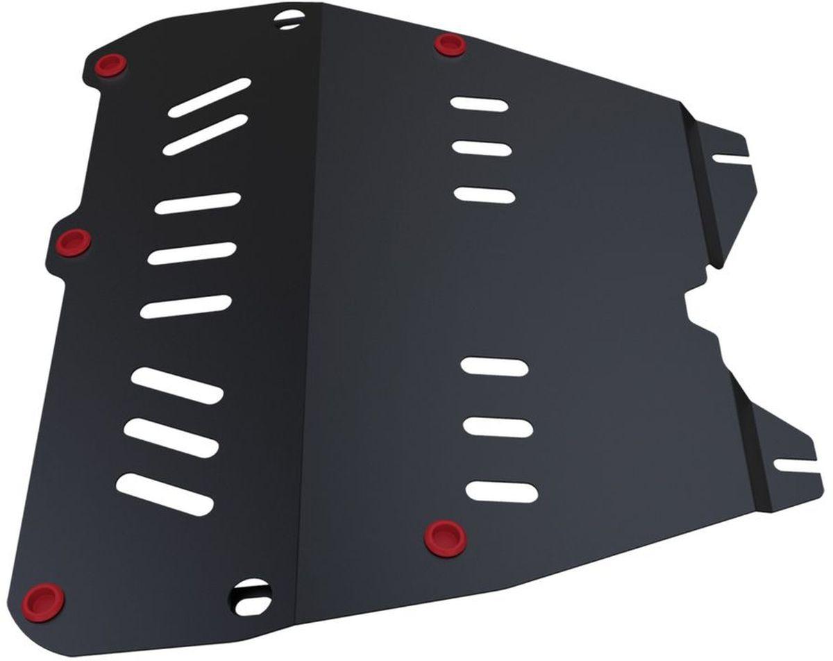 Защита картера и КПП Автоброня, для Opel Astra G/Zafira A. 111.04212.11004900000360Технологически совершенный продукт за невысокую стоимость.Защита разработана с учетом особенностей днища автомобиля, что позволяет сохранить дорожный просвет с минимальным изменением.Защита устанавливается в штатные места кузова автомобиля. Глубокий штамп обеспечивает до двух раз больше жесткости в сравнении с обычной защитой той же толщины. Проштампованные ребра жесткости препятствуют деформации защиты при ударах.Тепловой зазор и вентиляционные отверстия обеспечивают сохранение температурного режима двигателя в норме. Скрытый крепеж предотвращает срыв крепежных элементов при наезде на препятствие.Шумопоглощающие резиновые элементы обеспечивают комфортную езду без вибраций и скрежета металла, а съемные лючки для слива масла и замены фильтра - экономию средств и время.Конструкция изделия не влияет на пассивную безопасность автомобиля (при ударе защита не воздействует на деформационные зоны кузова). Со штатным крепежом. В комплекте инструкция по установке.Толщина стали: 2 мм.