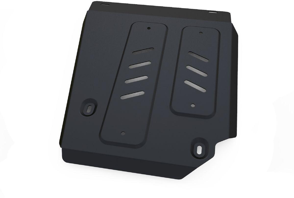 Защита топливного бака Автоброня, для Nissan Terrano/Renault Duster. 111.04718.198298123_черныйТехнологически совершенный продукт за невысокую стоимость.Защита разработана с учетом особенностей днища автомобиля, что позволяет сохранить дорожный просвет с минимальным изменением.Защита устанавливается в штатные места кузова автомобиля. Глубокий штамп обеспечивает до двух раз больше жесткости в сравнении с обычной защитой той же толщины. Проштампованные ребра жесткости препятствуют деформации защиты при ударах.Тепловой зазор и вентиляционные отверстия обеспечивают сохранение температурного режима двигателя в норме. Скрытый крепеж предотвращает срыв крепежных элементов при наезде на препятствие.Шумопоглощающие резиновые элементы обеспечивают комфортную езду без вибраций и скрежета металла, а съемные лючки для слива масла и замены фильтра - экономию средств и время.Конструкция изделия не влияет на пассивную безопасность автомобиля (при ударе защита не воздействует на деформационные зоны кузова). Со штатным крепежом. В комплекте инструкция по установке.Толщина стали: 2 мм.