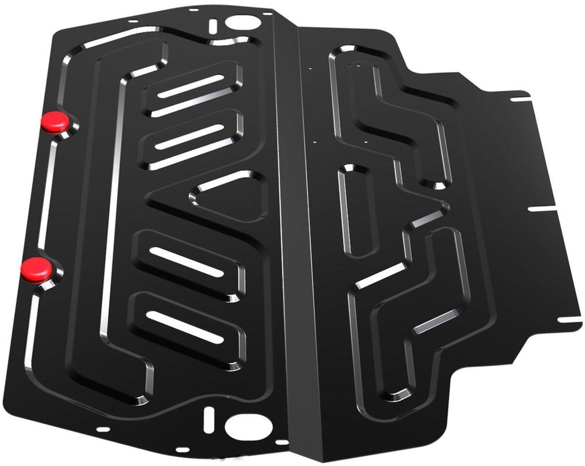 Защита картера и КПП Автоброня, для Skoda/VW/SeatMW-3101Технологически совершенный продукт за невысокую стоимость.Защита разработана с учетом особенностей днища автомобиля, что позволяет сохранить дорожный просвет с минимальным изменением.Защита устанавливается в штатные места кузова автомобиля. Глубокий штамп обеспечивает до двух раз больше жесткости в сравнении с обычной защитой той же толщины. Проштампованные ребра жесткости препятствуют деформации защиты при ударах.Тепловой зазор и вентиляционные отверстия обеспечивают сохранение температурного режима двигателя в норме. Скрытый крепеж предотвращает срыв крепежных элементов при наезде на препятствие.Шумопоглощающие резиновые элементы обеспечивают комфортную езду без вибраций и скрежета металла, а съемные лючки для слива масла и замены фильтра - экономию средств и время.Конструкция изделия не влияет на пассивную безопасность автомобиля (при ударе защита не воздействует на деформационные зоны кузова). Со штатным крепежом. В комплекте инструкция по установке.Толщина стали: 2 мм.