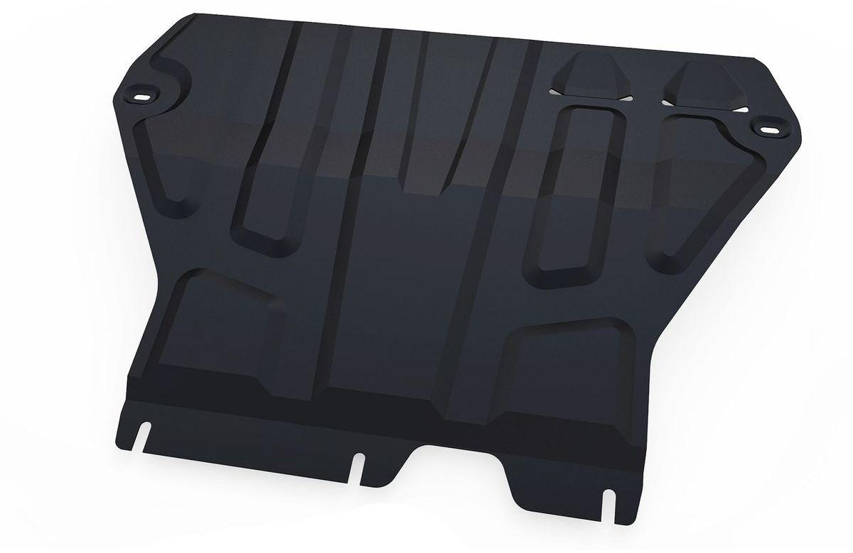Защита картера и КПП Автоброня, для Skoda Octavia A7. 111.05111.1240000Технологически совершенный продукт за невысокую стоимость.Защита разработана с учетом особенностей днища автомобиля, что позволяет сохранить дорожный просвет с минимальным изменением.Защита устанавливается в штатные места кузова автомобиля. Глубокий штамп обеспечивает до двух раз больше жесткости в сравнении с обычной защитой той же толщины. Проштампованные ребра жесткости препятствуют деформации защиты при ударах.Тепловой зазор и вентиляционные отверстия обеспечивают сохранение температурного режима двигателя в норме. Скрытый крепеж предотвращает срыв крепежных элементов при наезде на препятствие.Шумопоглощающие резиновые элементы обеспечивают комфортную езду без вибраций и скрежета металла, а съемные лючки для слива масла и замены фильтра - экономию средств и время.Конструкция изделия не влияет на пассивную безопасность автомобиля (при ударе защита не воздействует на деформационные зоны кузова). Со штатным крепежом. В комплекте инструкция по установке.Толщина стали: 2 мм.