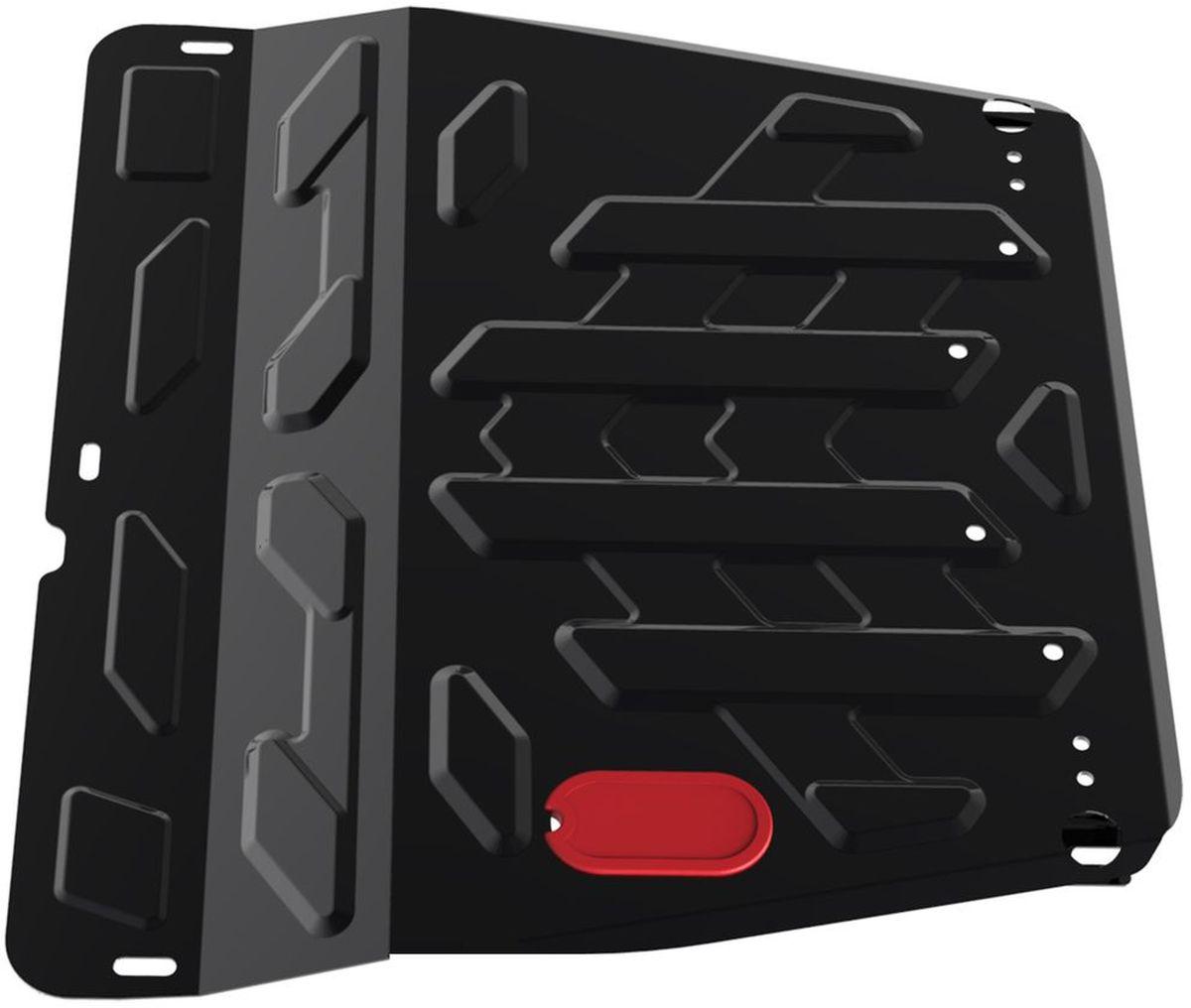 Защита картера и КПП Автоброня, для Ssang Yong Actyon. 111.05307.21004900000360Технологически совершенный продукт за невысокую стоимость.Защита разработана с учетом особенностей днища автомобиля, что позволяет сохранить дорожный просвет с минимальным изменением.Защита устанавливается в штатные места кузова автомобиля. Глубокий штамп обеспечивает до двух раз больше жесткости в сравнении с обычной защитой той же толщины. Проштампованные ребра жесткости препятствуют деформации защиты при ударах.Тепловой зазор и вентиляционные отверстия обеспечивают сохранение температурного режима двигателя в норме. Скрытый крепеж предотвращает срыв крепежных элементов при наезде на препятствие.Шумопоглощающие резиновые элементы обеспечивают комфортную езду без вибраций и скрежета металла, а съемные лючки для слива масла и замены фильтра - экономию средств и время.Конструкция изделия не влияет на пассивную безопасность автомобиля (при ударе защита не воздействует на деформационные зоны кузова). Со штатным крепежом. В комплекте инструкция по установке.Толщина стали: 2 мм.