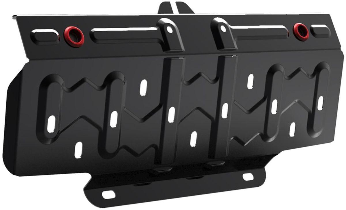 Защита радиатора Автоброня, для Ssang Yong Actyon. 111.05308.11004900000360Технологически совершенный продукт за невысокую стоимость.Защита разработана с учетом особенностей днища автомобиля, что позволяет сохранить дорожный просвет с минимальным изменением.Защита устанавливается в штатные места кузова автомобиля. Глубокий штамп обеспечивает до двух раз больше жесткости в сравнении с обычной защитой той же толщины. Проштампованные ребра жесткости препятствуют деформации защиты при ударах.Тепловой зазор и вентиляционные отверстия обеспечивают сохранение температурного режима двигателя в норме. Скрытый крепеж предотвращает срыв крепежных элементов при наезде на препятствие.Шумопоглощающие резиновые элементы обеспечивают комфортную езду без вибраций и скрежета металла, а съемные лючки для слива масла и замены фильтра - экономию средств и время.Конструкция изделия не влияет на пассивную безопасность автомобиля (при ударе защита не воздействует на деформационные зоны кузова). Со штатным крепежом. В комплекте инструкция по установке.Толщина стали: 2 мм.