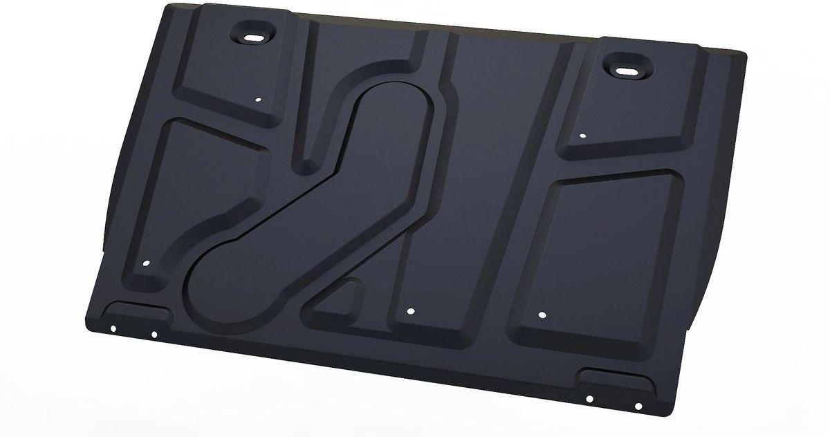 Защита картера и КПП Автоброня, для Toyota Rav 4. 111.05709.1S03301004Технологически совершенный продукт за невысокую стоимость.Защита разработана с учетом особенностей днища автомобиля, что позволяет сохранить дорожный просвет с минимальным изменением.Защита устанавливается в штатные места кузова автомобиля. Глубокий штамп обеспечивает до двух раз больше жесткости в сравнении с обычной защитой той же толщины. Проштампованные ребра жесткости препятствуют деформации защиты при ударах.Тепловой зазор и вентиляционные отверстия обеспечивают сохранение температурного режима двигателя в норме. Скрытый крепеж предотвращает срыв крепежных элементов при наезде на препятствие.Шумопоглощающие резиновые элементы обеспечивают комфортную езду без вибраций и скрежета металла, а съемные лючки для слива масла и замены фильтра - экономию средств и время.Конструкция изделия не влияет на пассивную безопасность автомобиля (при ударе защита не воздействует на деформационные зоны кузова). Со штатным крепежом. В комплекте инструкция по установке.Толщина стали: 2 мм.
