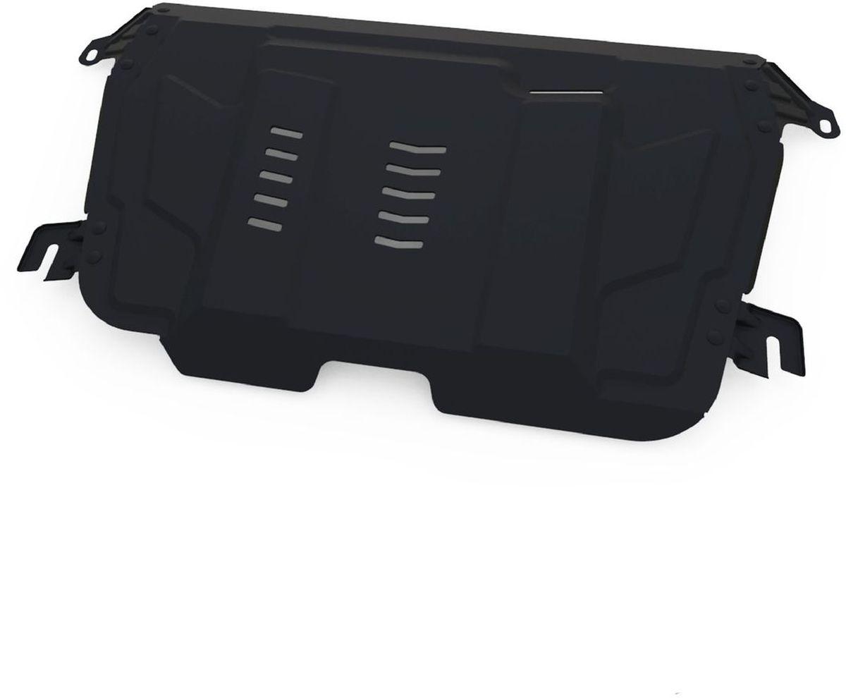 Защита картера и КПП Автоброня, для Lexus ES 250/ES 350/RX270/Toyota Camry/Highlander/Venza. 111.05797.11004900000360Технологически совершенный продукт за невысокую стоимость.Защита разработана с учетом особенностей днища автомобиля, что позволяет сохранить дорожный просвет с минимальным изменением.Защита устанавливается в штатные места кузова автомобиля. Глубокий штамп обеспечивает до двух раз больше жесткости в сравнении с обычной защитой той же толщины. Проштампованные ребра жесткости препятствуют деформации защиты при ударах.Тепловой зазор и вентиляционные отверстия обеспечивают сохранение температурного режима двигателя в норме. Скрытый крепеж предотвращает срыв крепежных элементов при наезде на препятствие.Шумопоглощающие резиновые элементы обеспечивают комфортную езду без вибраций и скрежета металла, а съемные лючки для слива масла и замены фильтра - экономию средств и время.Конструкция изделия не влияет на пассивную безопасность автомобиля (при ударе защита не воздействует на деформационные зоны кузова). Со штатным крепежом. В комплекте инструкция по установке.Толщина стали: 2 мм.