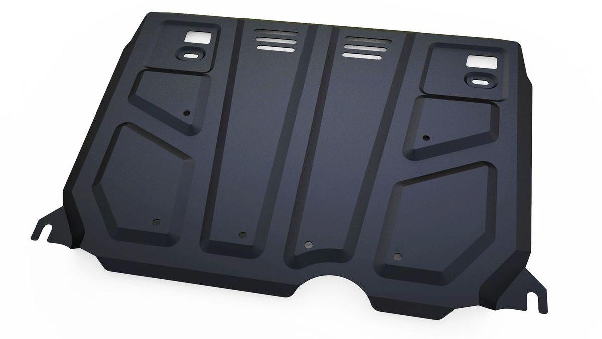 Защита картера и КПП Автоброня, для Toyota Auris/Corolla. 111.05799.11004900000360Технологически совершенный продукт за невысокую стоимость.Защита разработана с учетом особенностей днища автомобиля, что позволяет сохранить дорожный просвет с минимальным изменением.Защита устанавливается в штатные места кузова автомобиля. Глубокий штамп обеспечивает до двух раз больше жесткости в сравнении с обычной защитой той же толщины. Проштампованные ребра жесткости препятствуют деформации защиты при ударах.Тепловой зазор и вентиляционные отверстия обеспечивают сохранение температурного режима двигателя в норме. Скрытый крепеж предотвращает срыв крепежных элементов при наезде на препятствие.Шумопоглощающие резиновые элементы обеспечивают комфортную езду без вибраций и скрежета металла, а съемные лючки для слива масла и замены фильтра - экономию средств и время.Конструкция изделия не влияет на пассивную безопасность автомобиля (при ударе защита не воздействует на деформационные зоны кузова). Со штатным крепежом. В комплекте инструкция по установке.Толщина стали: 2 мм.
