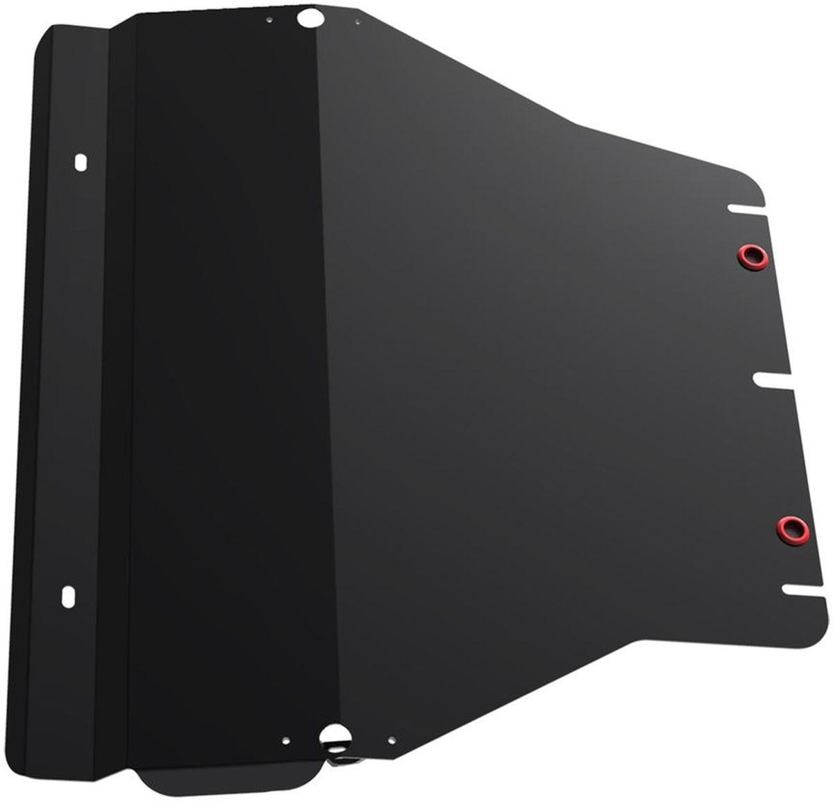 Защита картера и КПП Автоброня, для Volkswagen Caravelle/Multivan/Transporter T5. 111.05806.1SVC-300Технологически совершенный продукт за невысокую стоимость.Защита разработана с учетом особенностей днища автомобиля, что позволяет сохранить дорожный просвет с минимальным изменением.Защита устанавливается в штатные места кузова автомобиля. Глубокий штамп обеспечивает до двух раз больше жесткости в сравнении с обычной защитой той же толщины. Проштампованные ребра жесткости препятствуют деформации защиты при ударах.Тепловой зазор и вентиляционные отверстия обеспечивают сохранение температурного режима двигателя в норме. Скрытый крепеж предотвращает срыв крепежных элементов при наезде на препятствие.Шумопоглощающие резиновые элементы обеспечивают комфортную езду без вибраций и скрежета металла, а съемные лючки для слива масла и замены фильтра - экономию средств и время.Конструкция изделия не влияет на пассивную безопасность автомобиля (при ударе защита не воздействует на деформационные зоны кузова). Со штатным крепежом. В комплекте инструкция по установке.Толщина стали: 2 мм.