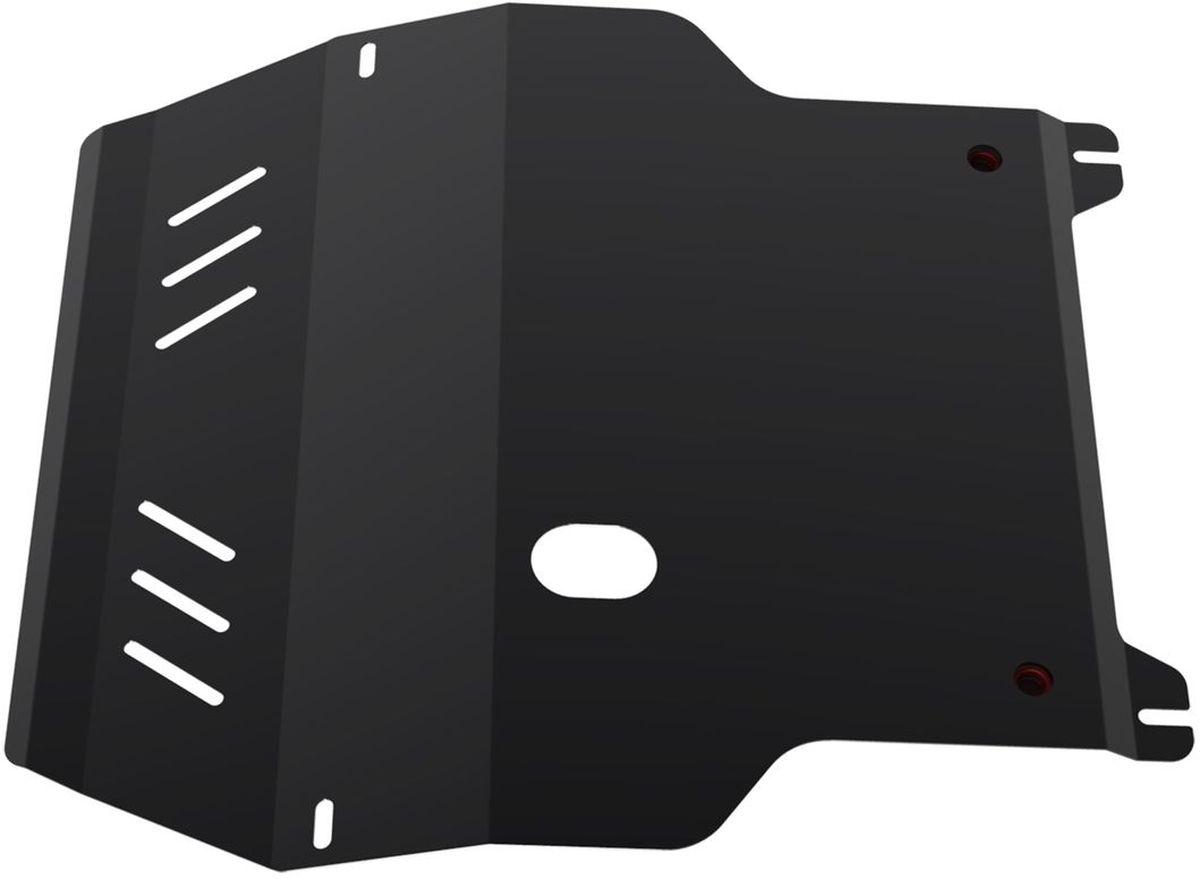 Защита картера и КПП Автоброня, для Seat Leon/VW Bora/Golf IV/New Beetle98298123_черныйТехнологически совершенный продукт за невысокую стоимость.Защита разработана с учетом особенностей днища автомобиля, что позволяет сохранить дорожный просвет с минимальным изменением.Защита устанавливается в штатные места кузова автомобиля. Глубокий штамп обеспечивает до двух раз больше жесткости в сравнении с обычной защитой той же толщины. Проштампованные ребра жесткости препятствуют деформации защиты при ударах.Тепловой зазор и вентиляционные отверстия обеспечивают сохранение температурного режима двигателя в норме. Скрытый крепеж предотвращает срыв крепежных элементов при наезде на препятствие.Шумопоглощающие резиновые элементы обеспечивают комфортную езду без вибраций и скрежета металла, а съемные лючки для слива масла и замены фильтра - экономию средств и время.Конструкция изделия не влияет на пассивную безопасность автомобиля (при ударе защита не воздействует на деформационные зоны кузова). Со штатным крепежом. В комплекте инструкция по установке.Толщина стали: 2 мм.