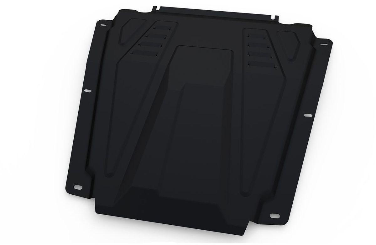 Защита картера и КПП Автоброня, для Lada Largus/Nissan Almera/Renault Logan/Sandero. 111.06027.1кн12-60авцТехнологически совершенный продукт за невысокую стоимость.Защита разработана с учетом особенностей днища автомобиля, что позволяет сохранить дорожный просвет с минимальным изменением.Защита устанавливается в штатные места кузова автомобиля. Глубокий штамп обеспечивает до двух раз больше жесткости в сравнении с обычной защитой той же толщины. Проштампованные ребра жесткости препятствуют деформации защиты при ударах.Тепловой зазор и вентиляционные отверстия обеспечивают сохранение температурного режима двигателя в норме. Скрытый крепеж предотвращает срыв крепежных элементов при наезде на препятствие.Шумопоглощающие резиновые элементы обеспечивают комфортную езду без вибраций и скрежета металла, а съемные лючки для слива масла и замены фильтра - экономию средств и время.Конструкция изделия не влияет на пассивную безопасность автомобиля (при ударе защита не воздействует на деформационные зоны кузова). Со штатным крепежом. В комплекте инструкция по установке.Толщина стали: 2 мм.