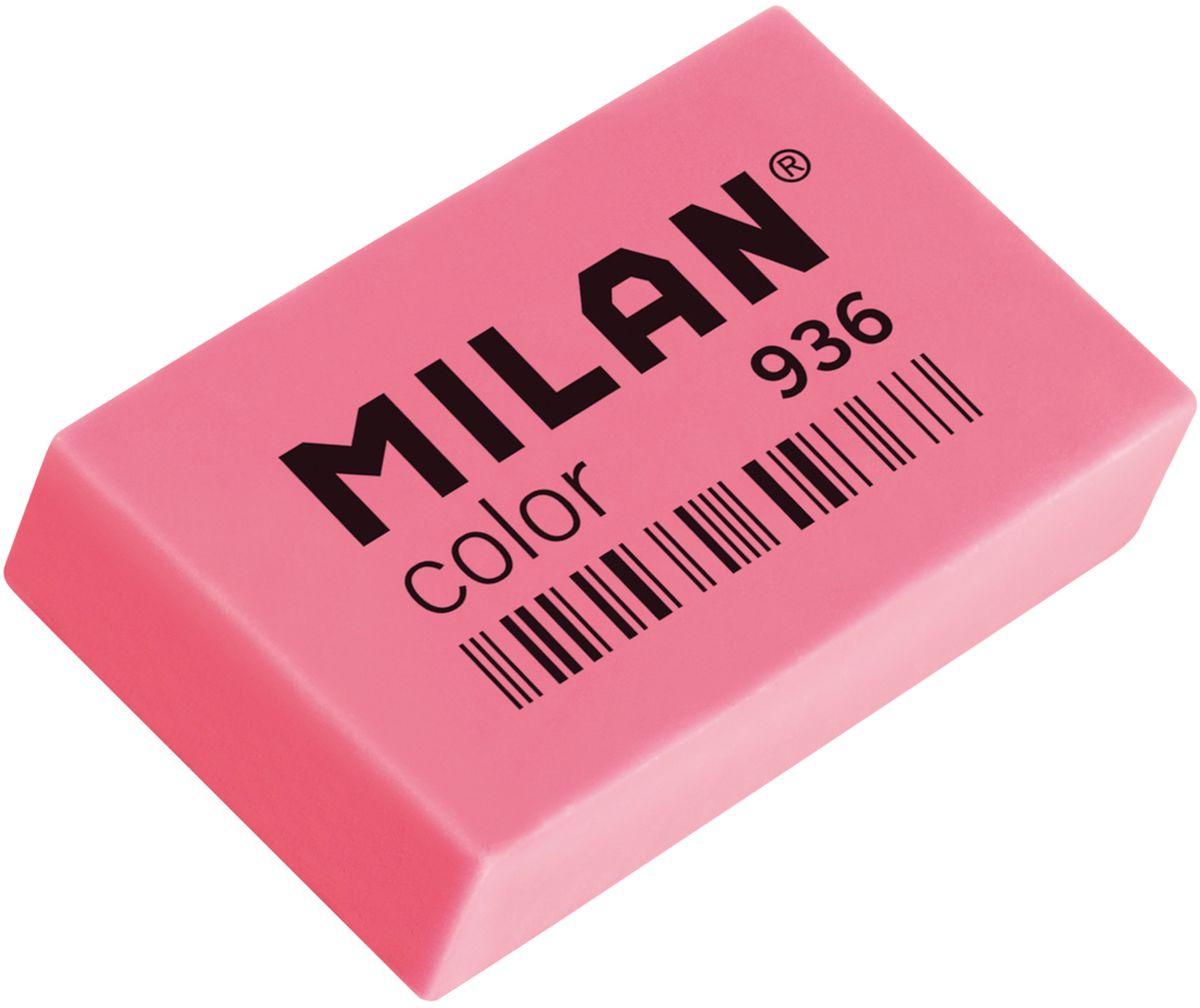 Milan Ластик Color 936 прямоугольный цвет розовыйRS_00604Ластик Milan Color 936 - это универсальный синтетический ластик широкого спектра применения. Яркие неоновые цвета, плотная структура. Высокие абсорбирующие показатели.