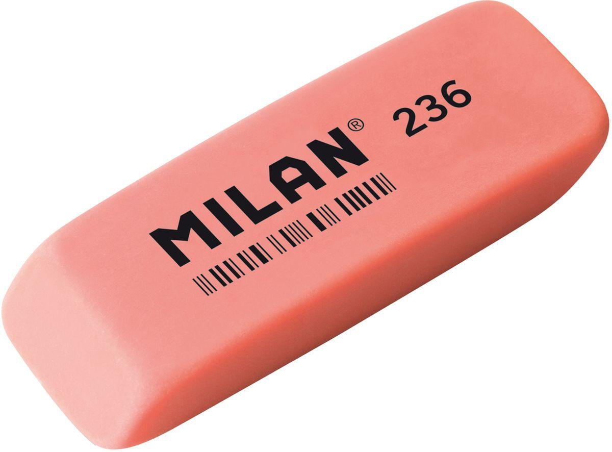 Milan Ластик 236 цвет коралловыйFS-36052Ластик Milan станет незаменимым аксессуаром на рабочем столе не только школьника или студента, но и офисного работника.Ластик имеет прямоугольную форму с двумя скошенными краями, которые предназначены для более точного стирания.Ластик обеспечивает высокое качество коррекции и не повреждает поверхность бумаги.