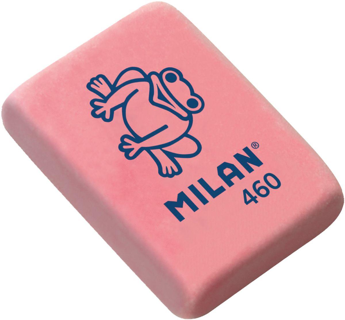 Milan Ластик 460 цвет красный72523WDЛастик Milan с плотной структурой для эффективного стирания карандашей различной твердости. Ластик обеспечивает высокое качество коррекции и не повреждает поверхность бумаги.