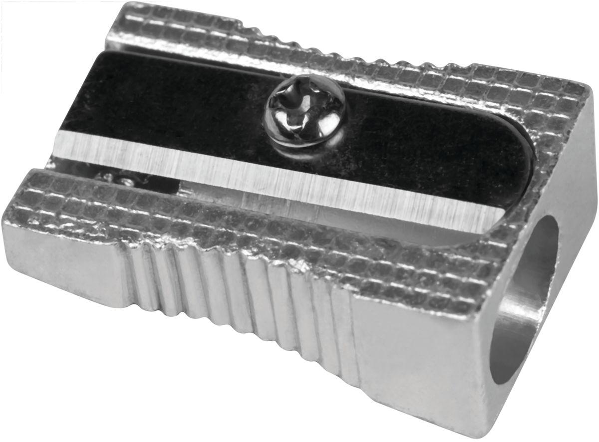 Milan Точилка 80033FS-36052Надежная и простая в использовании металлическая точилка Milan с одним отверстием для стандартных карандашей без контейнера для сборки стружки. Долговечная. Имеет удобную рифленую зону обхвата.