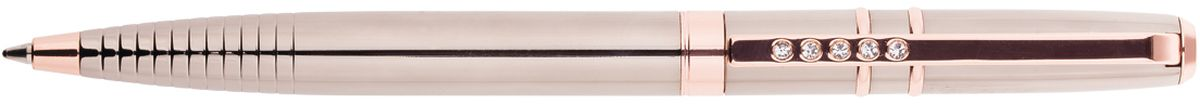Delucci Ручка шариковая цвет корпуса темно-серый золотистый CPs_112271931664Подарочная ручка Delucci сочетает в себе изысканный дизайн и современные технологии. Цвет корпуса и отделка темно-серого и золотистого цветов. Оригинальное рифление на корпусе, кристалл на клипе. Диаметр пишущего узла - 1 мм.