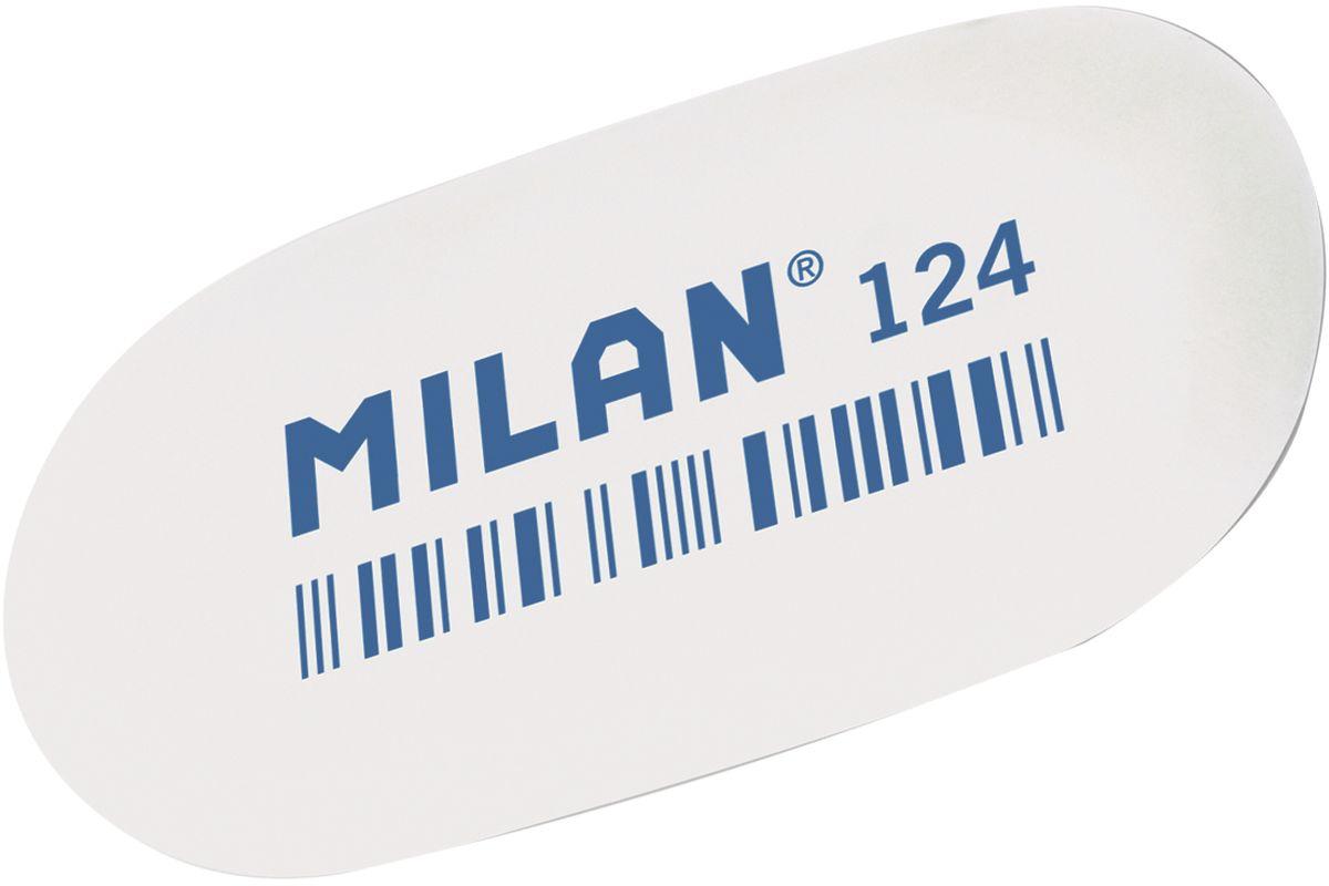 Milan Ластик 124 цвет белый72523WDЛастик Milan овальной формы для точного стирания. Полумягкая текстура.