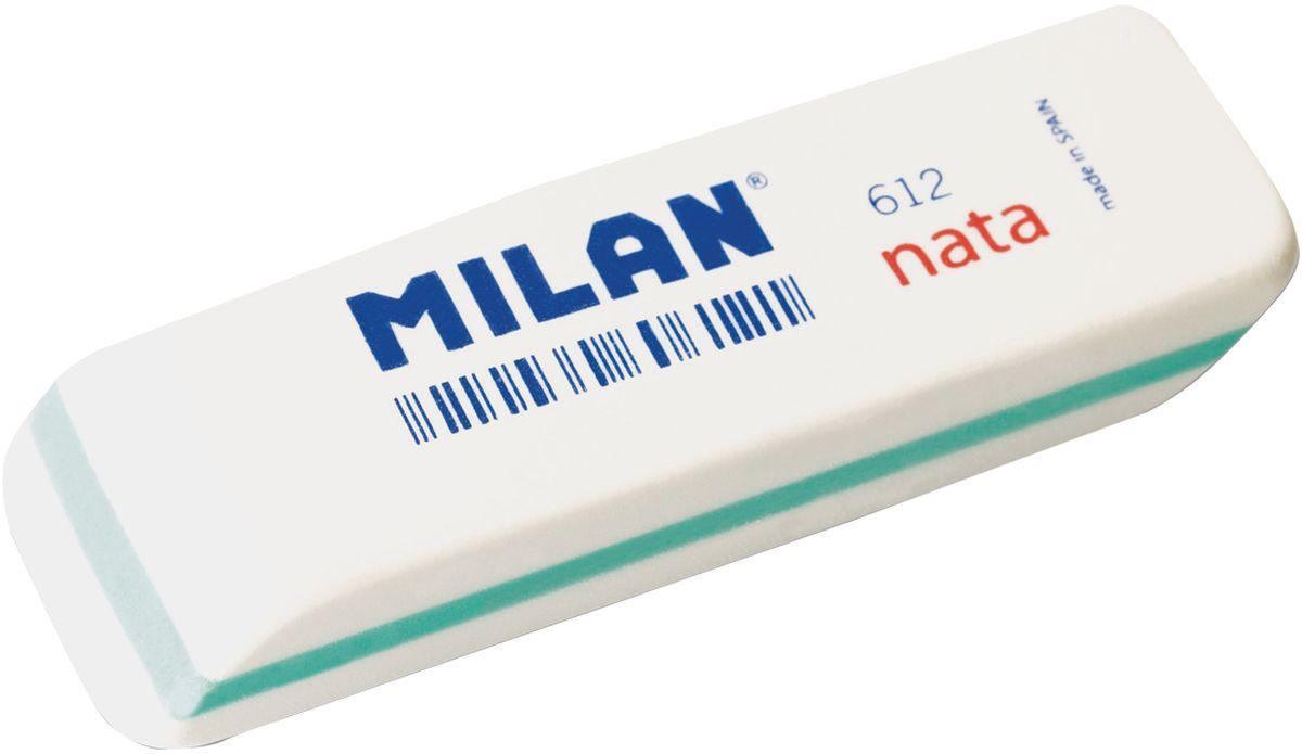 Milan Ластик Nata 612 скошенныйFS-36054Ластик Milan Nata 612 - это двухкомпонентный синтетический ластик с индивидуальным штрихкодом.