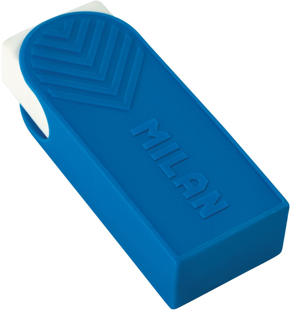 Milan Ластик A1 прямоугольныйPR_00120Ластик Milan A1 - это одно из лучших предложений для профессиональных задач. Ластик великолепно стирает все виды особо мягких и специальных художественных карандашей, включая сангину и уголь. Изготовлен из натурального каучука с добавлением синтетического пластификатора, что гарантирует великолепные абсорбционные свойства. Удобный держатель из пластика.