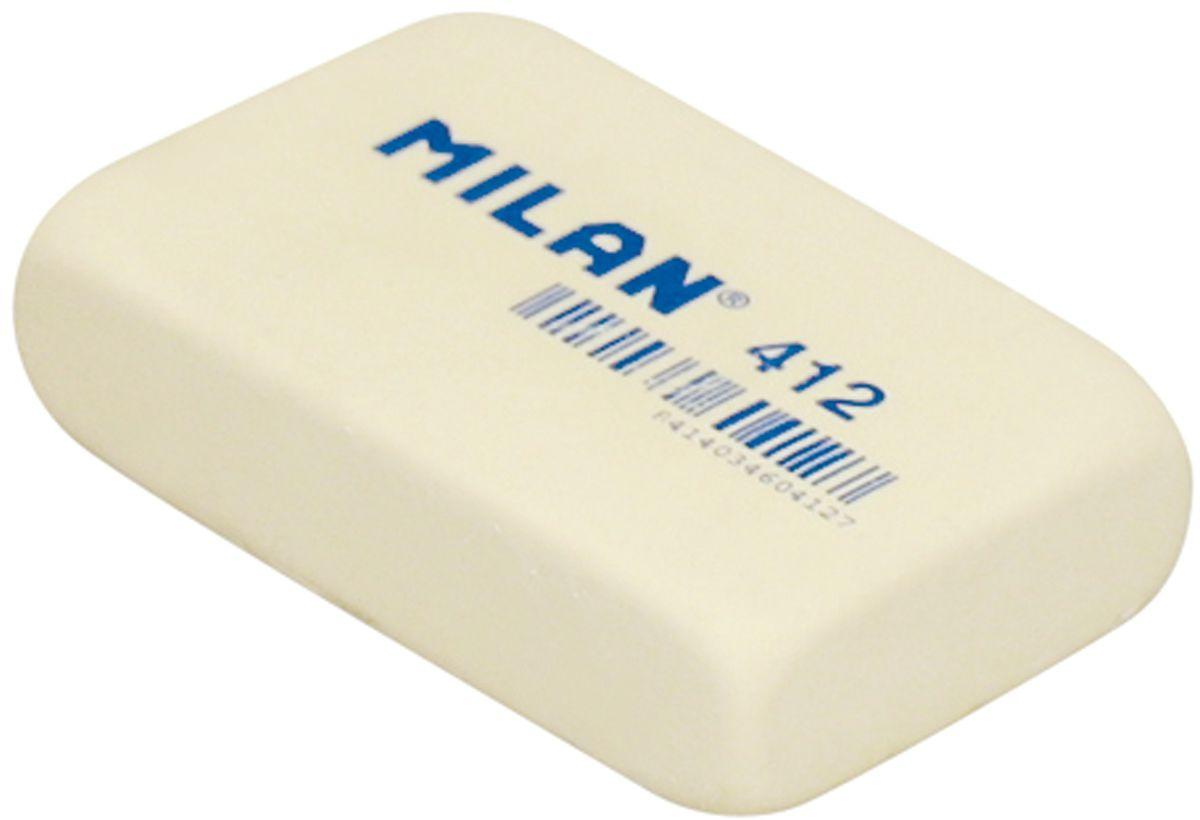 Milan Ластик 412 цвет молочный227871Ластик Milan прямоугольной формы имеет мягкую структуру, и обладает высокой гибкостью, обеспечивая безупречное стирание.