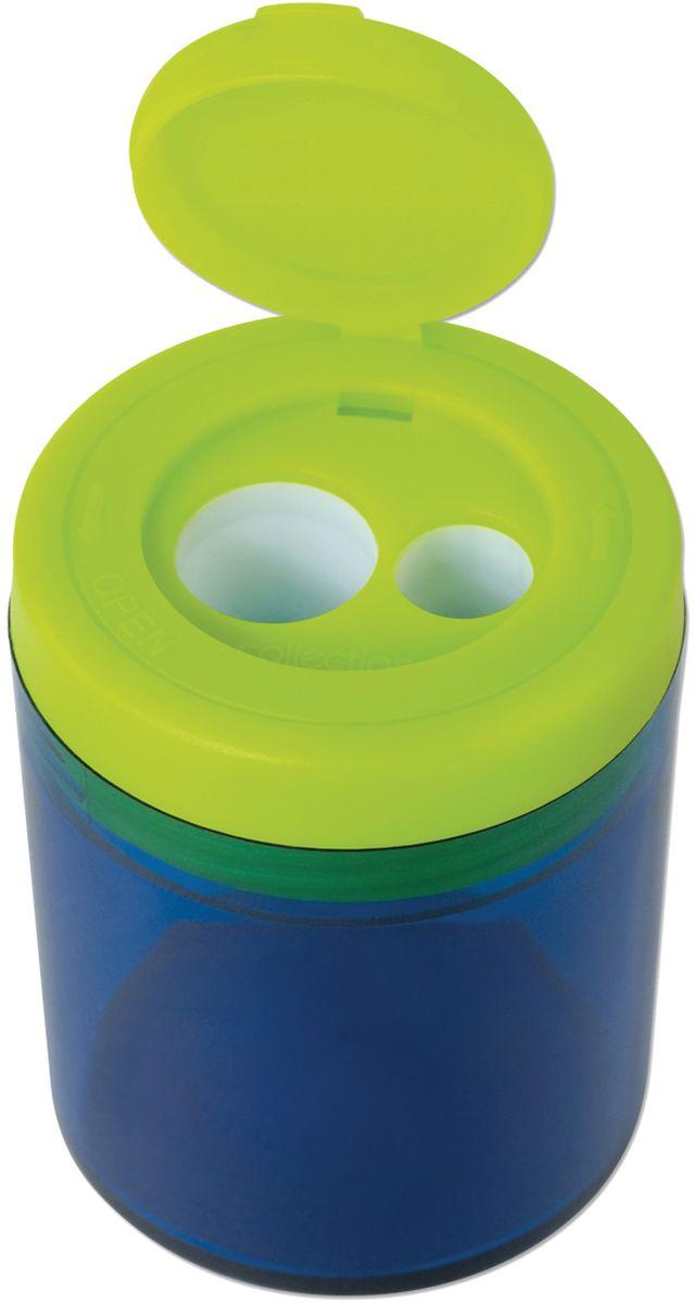 Milan Точилка Collection с контейнером20161912Дизайнерская точилка MILAN. Оснащена безопасной системой заточки. Эта система предотвращает отделение лезвия от точилки. Идеально подходит для использования в школах. Стальное лезвие острое и устойчиво к повреждению. Идеально подходит для заточки графитовых и цветных карандашей