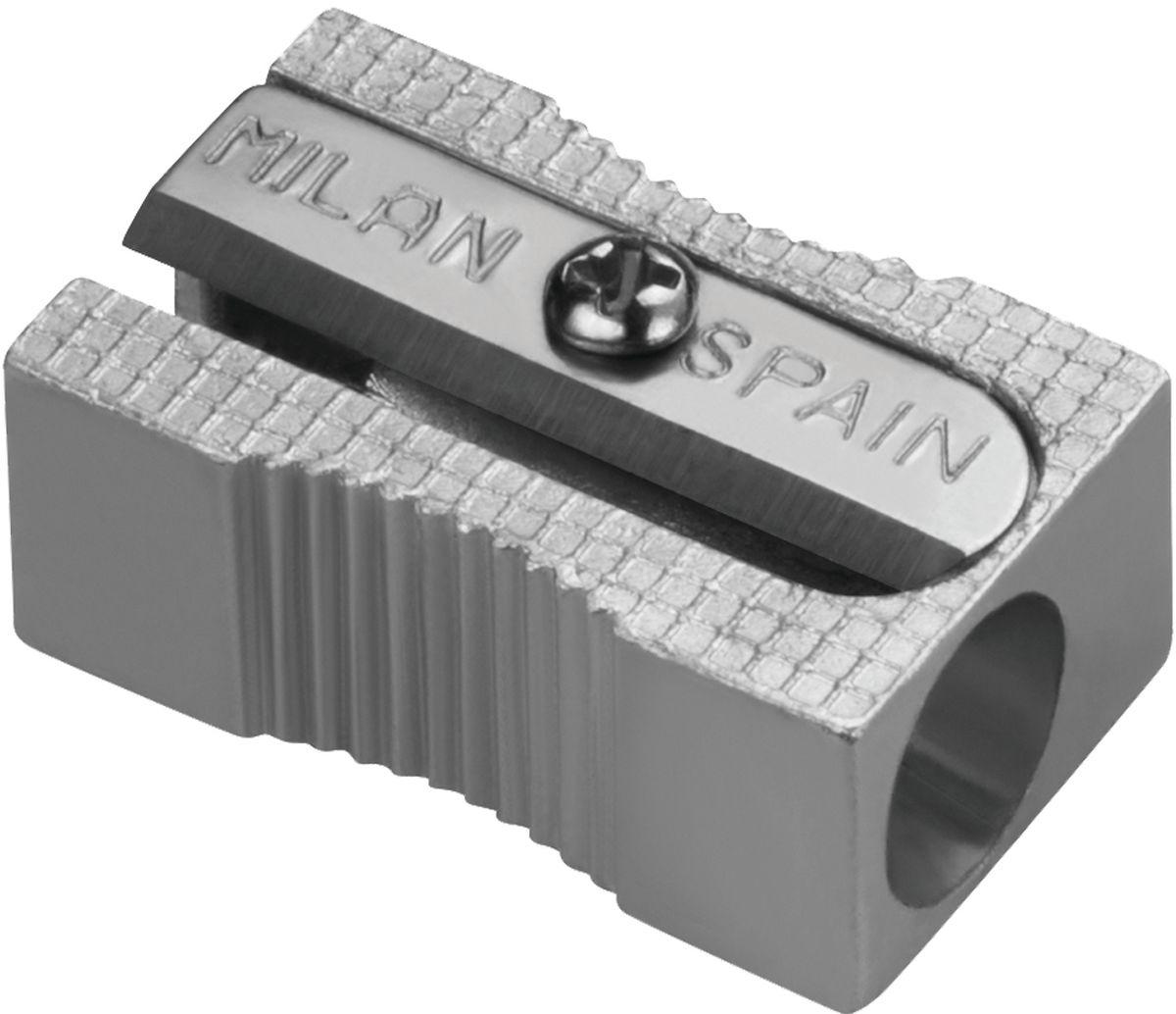Milan Точилка 8003472523WDАлюминиевая точилка MILAN. Лезвие из углеродистой стали, острое и устойчивое к повреждению. Идеально подходит для графитовых и цветных карандашей