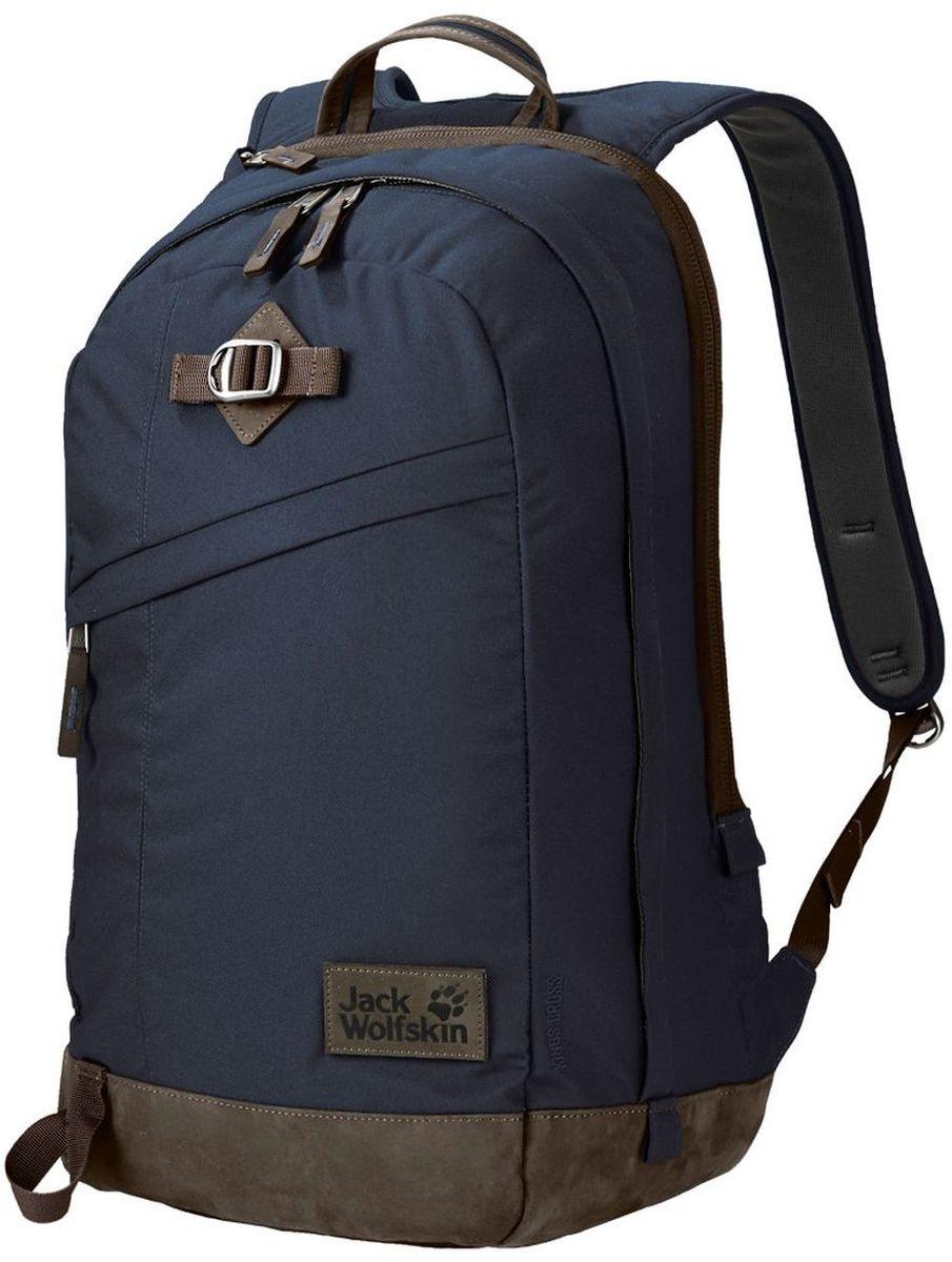 Рюкзак Jack Wolfskin Kings Cross, цвет: темно-синий. 2003282-1010 сумки jack wolfskin сумка cross run 2
