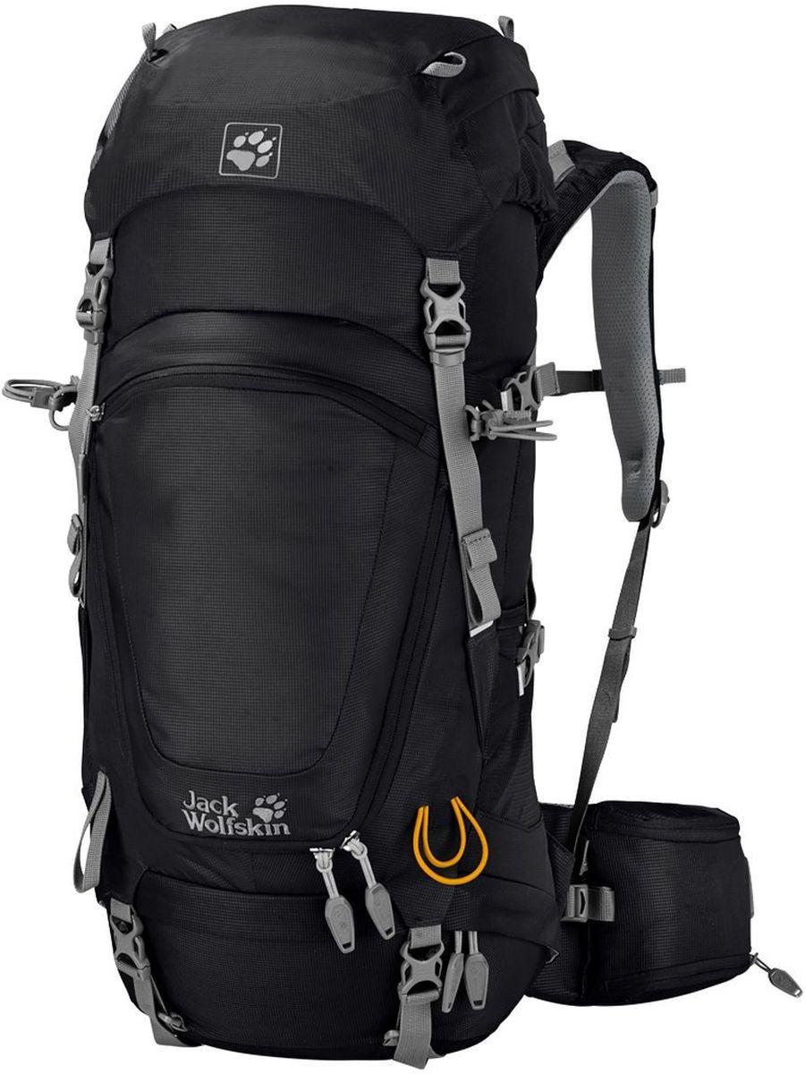 Рюкзак туристический Jack Wolfskin  Highland Trail 36 , цвет: черный. 2004631-6000 - Туристические рюкзаки