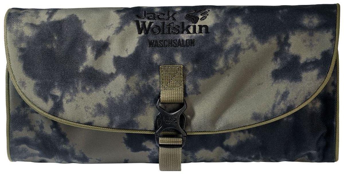 Нессесер Jack Wolfskin Waschsalon, цвет: хаки. 86130-7957BM8434-58AEНесессер от Jack Wolfskin идеально подходит для путешествий и поездок выходного дня. Модель выполнена из плотного текстиля. Модель застегивается на клапан с фастексом. Два внутренних кармана на молнии, два кармана на липучке, два кармана без застежки, съемное зеркальце на липучке, крючок для подвешивания.
