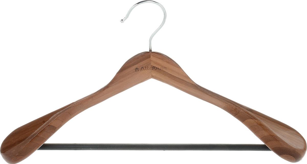 Вешалка для верхней одежды Attribute Hanger Bamboo, цвет: дерево, длина 44 смRG-D31SВешалка для верхней одежды Attribute Hanger Bamboo выполнена из бамбука и оснащена перекладиной с нескользящим покрытием. Вешалка - это незаменимая вещь для того, чтобы ваша одежда всегда оставалась в хорошем состоянии.Длина вешалки: 44 см.